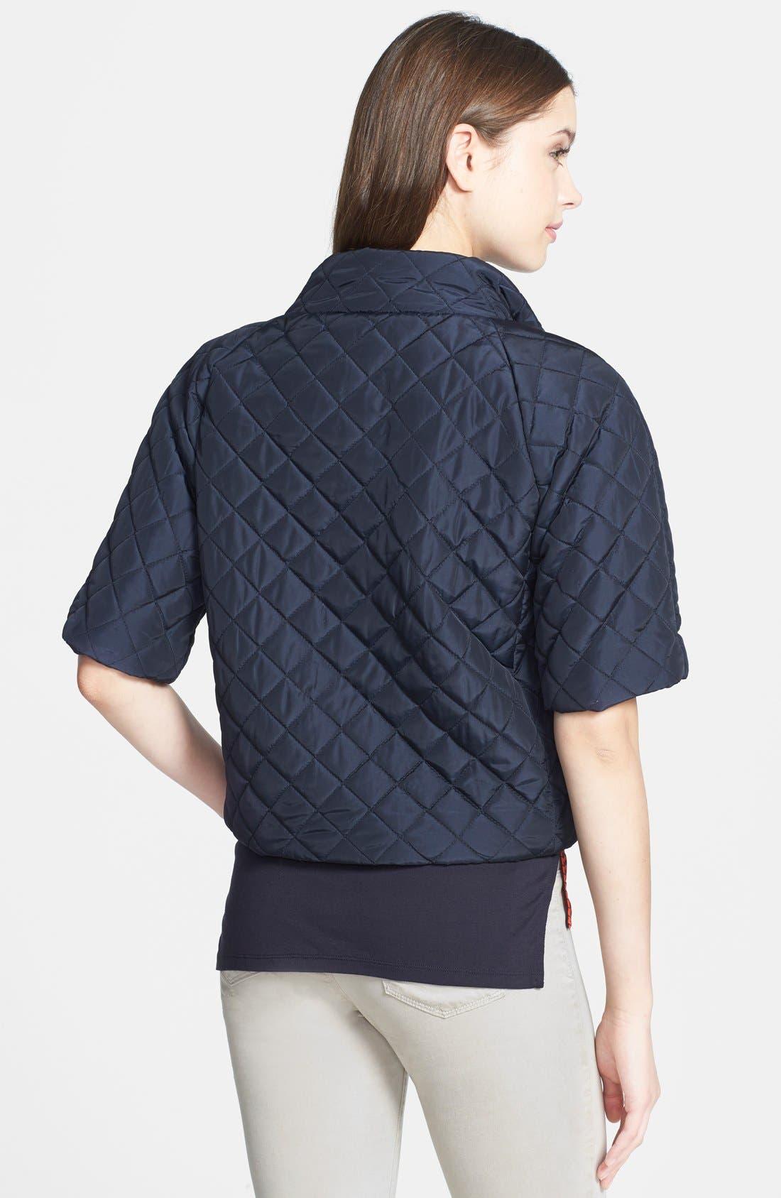 Short Sleeve Puffer Jacket,                             Alternate thumbnail 2, color,                             415