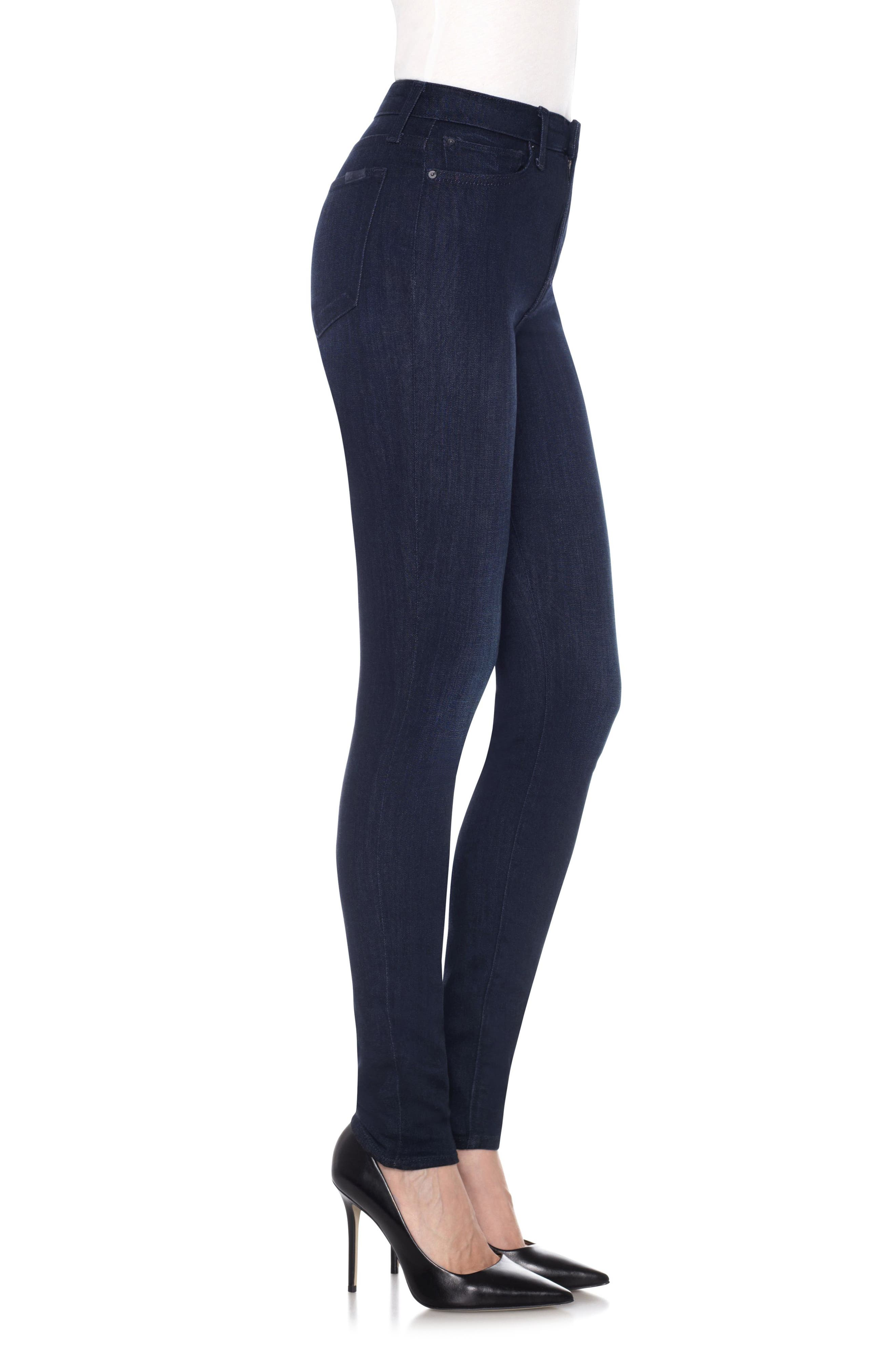 Charlie High Waist Skinny Jeans,                             Alternate thumbnail 3, color,                             400