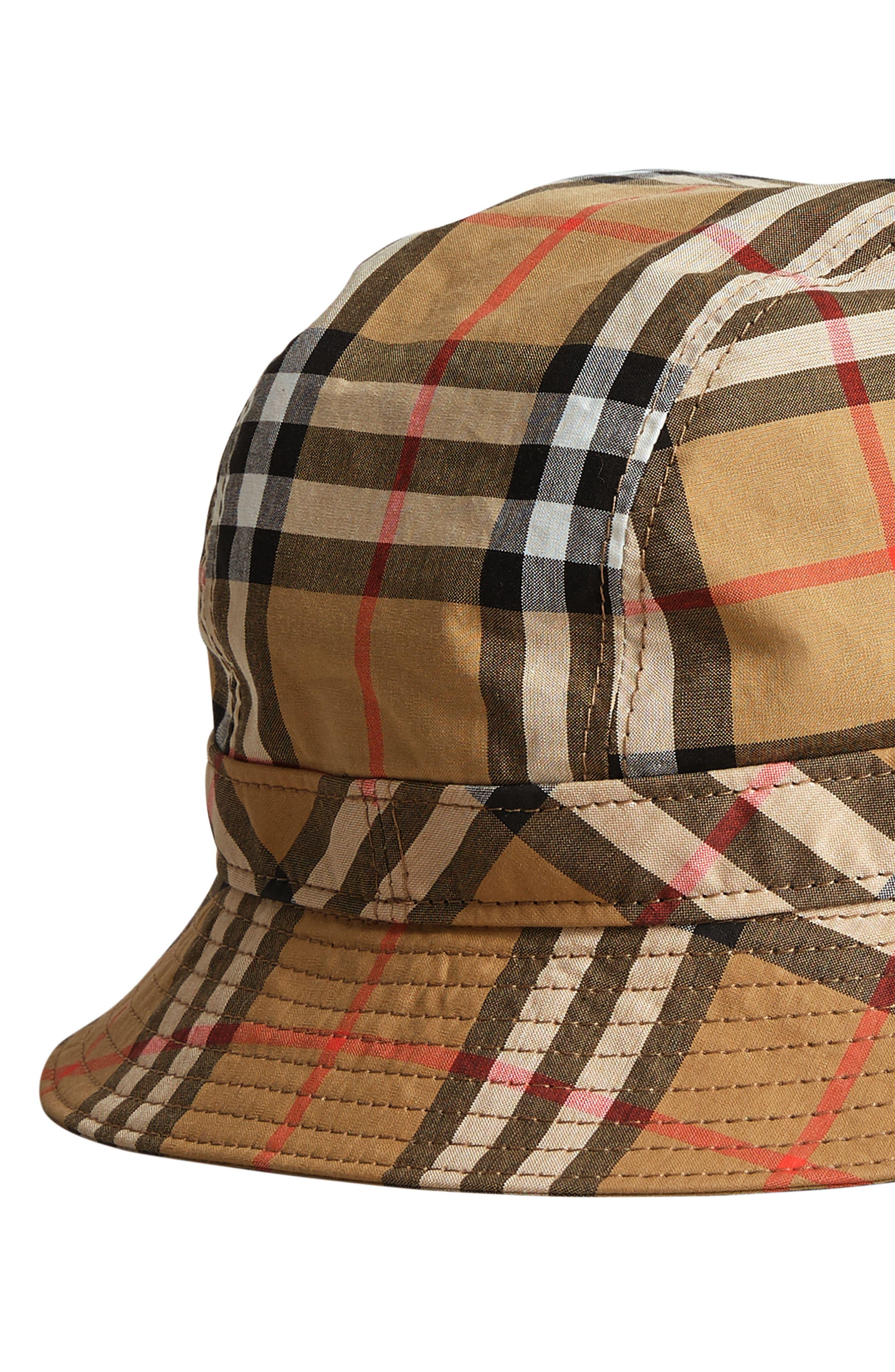 Vintage Check Bucket Hat,                             Alternate thumbnail 2, color,                             200