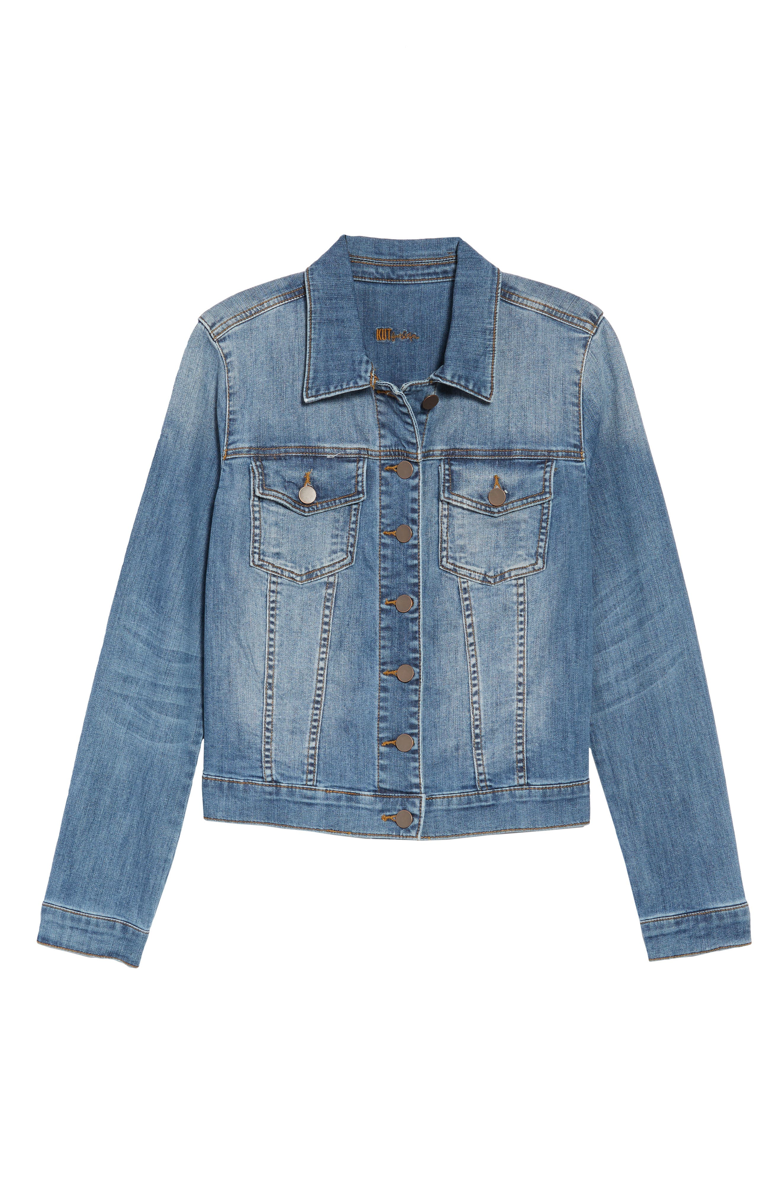 'Helena' Denim Jacket,                             Alternate thumbnail 22, color,