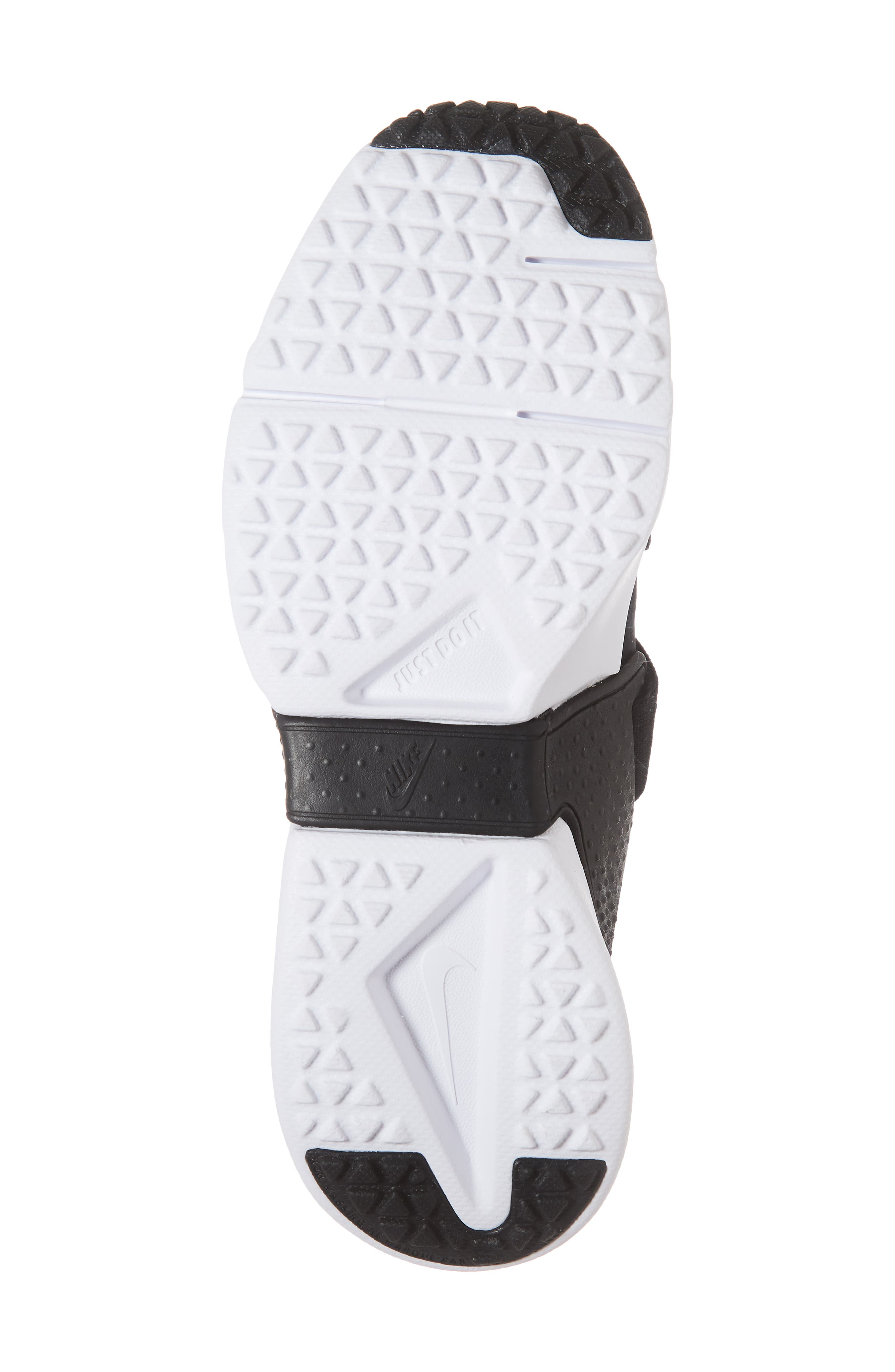 Huarache Extreme Sneaker,                             Alternate thumbnail 6, color,                             BLACK/ METALLIC GOLD/ WHITE
