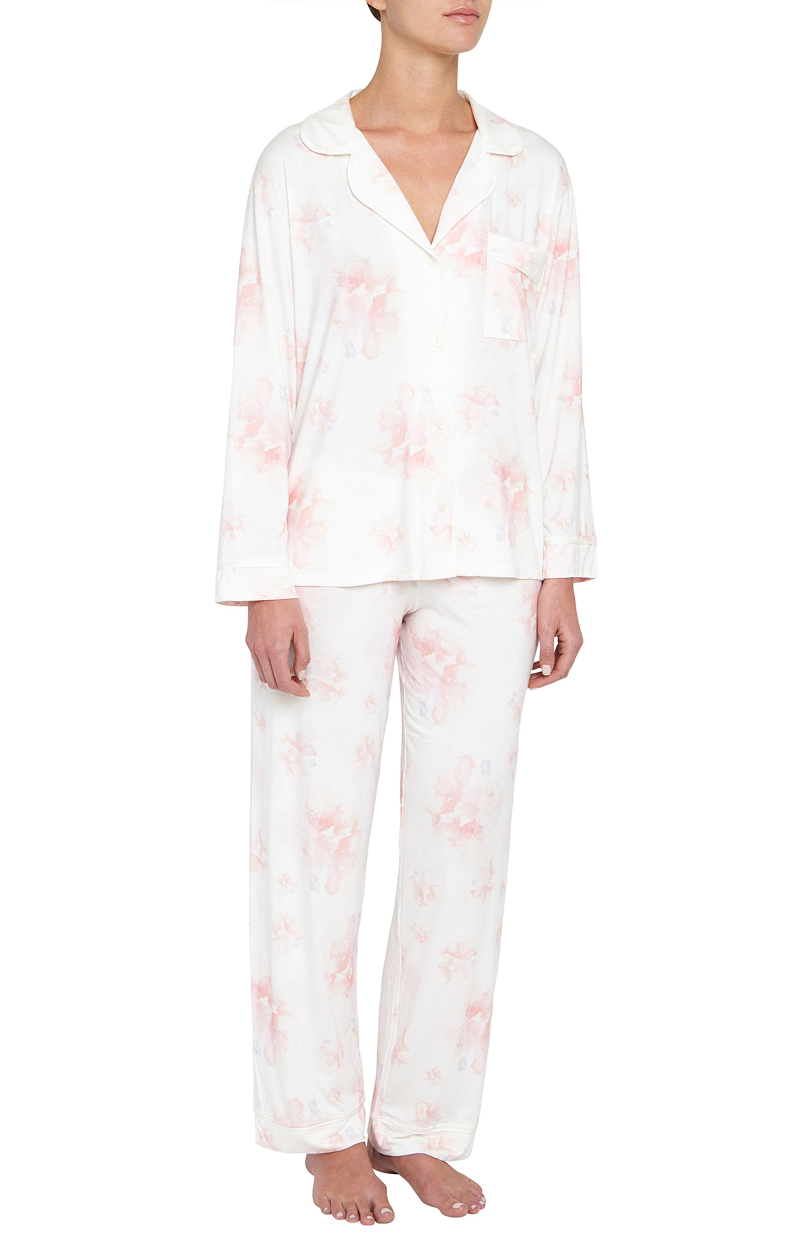 EBERJEY Aquarela The Long Pajamas, Main, color, 904