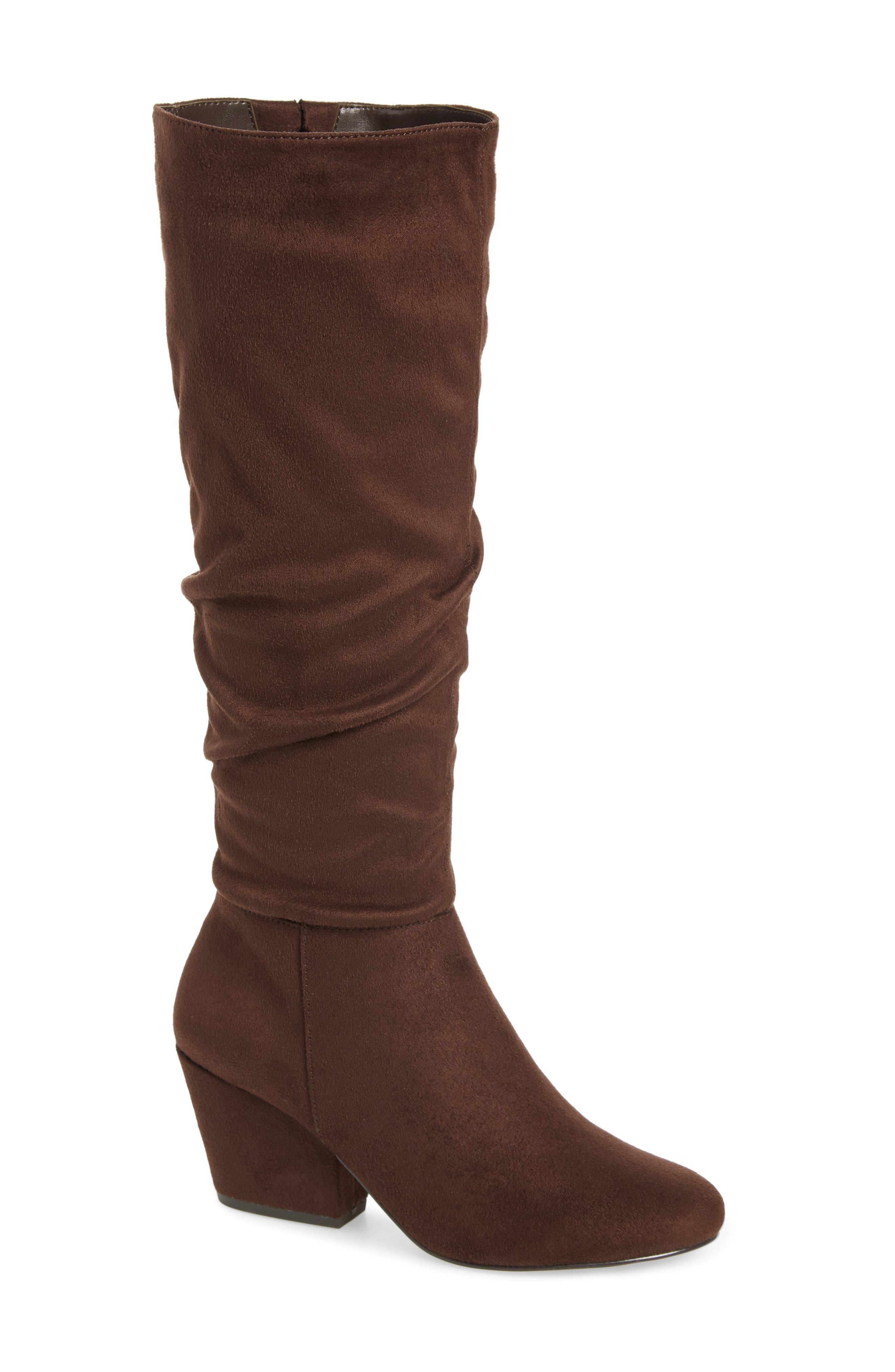 Bella Vita Karen Ii Knee High Slouch Boot, Brown
