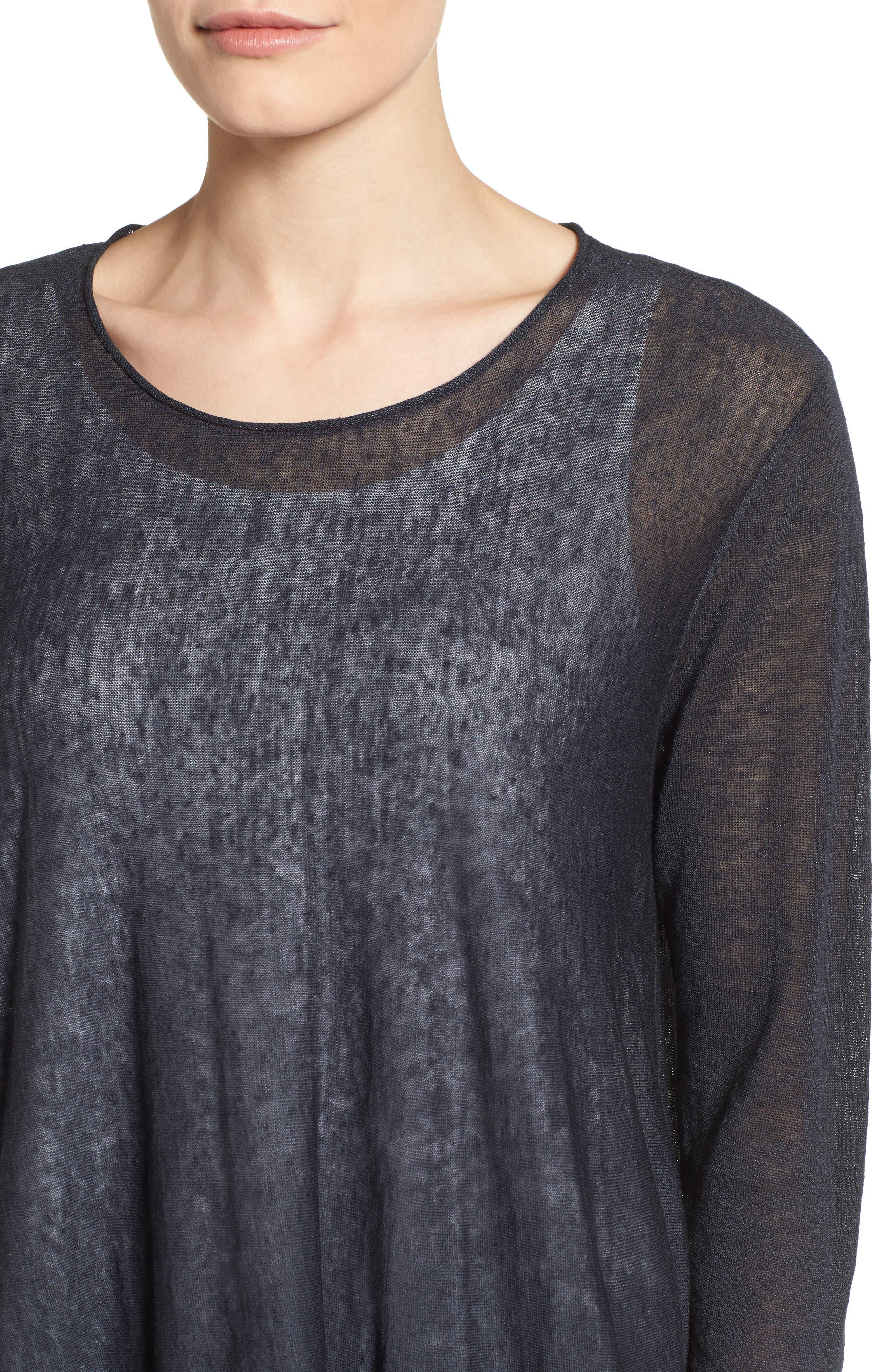 Organic Linen Blend Swing Sweater,                             Alternate thumbnail 30, color,