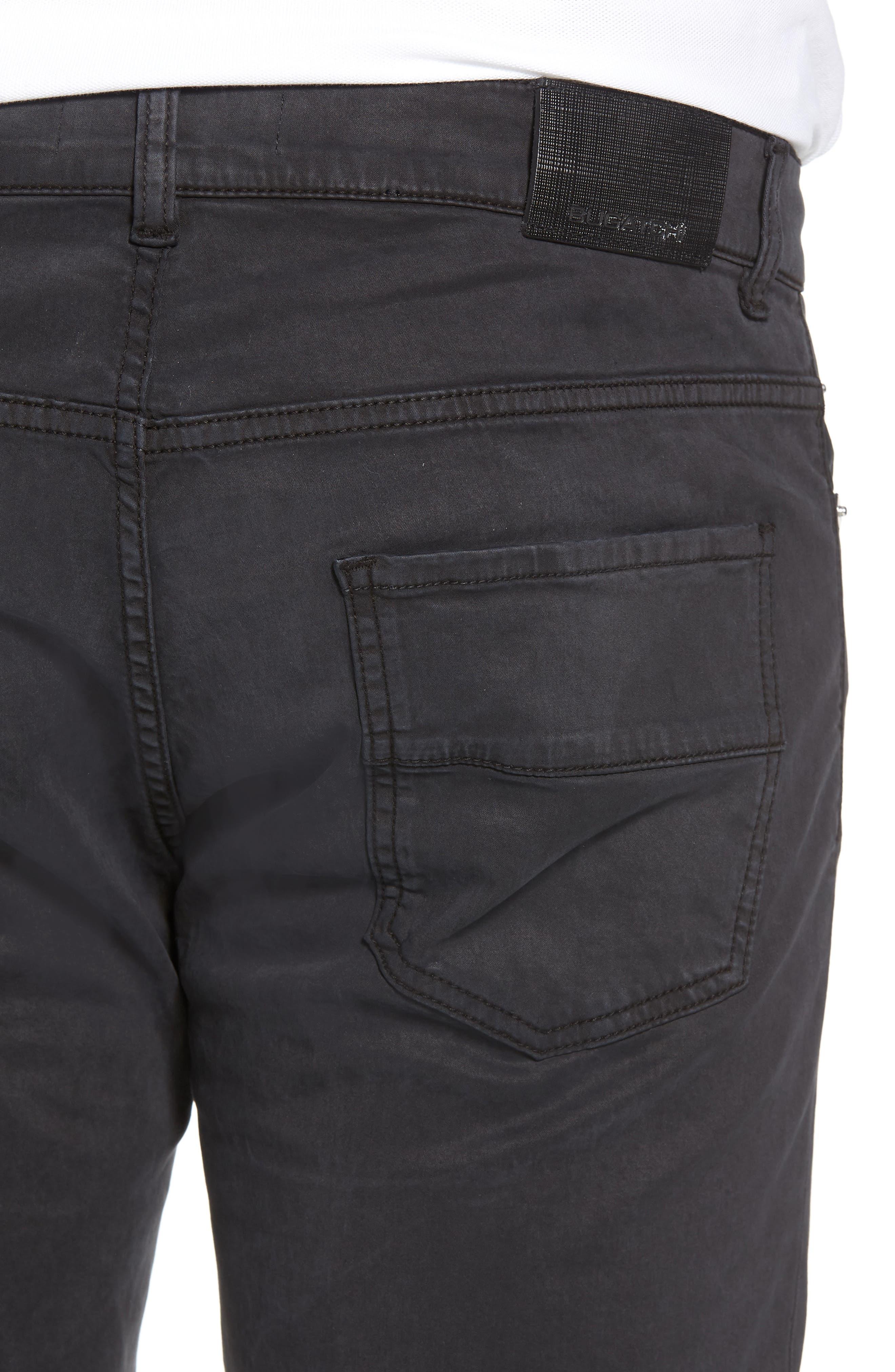 Trim Fit Pants,                             Alternate thumbnail 4, color,                             001