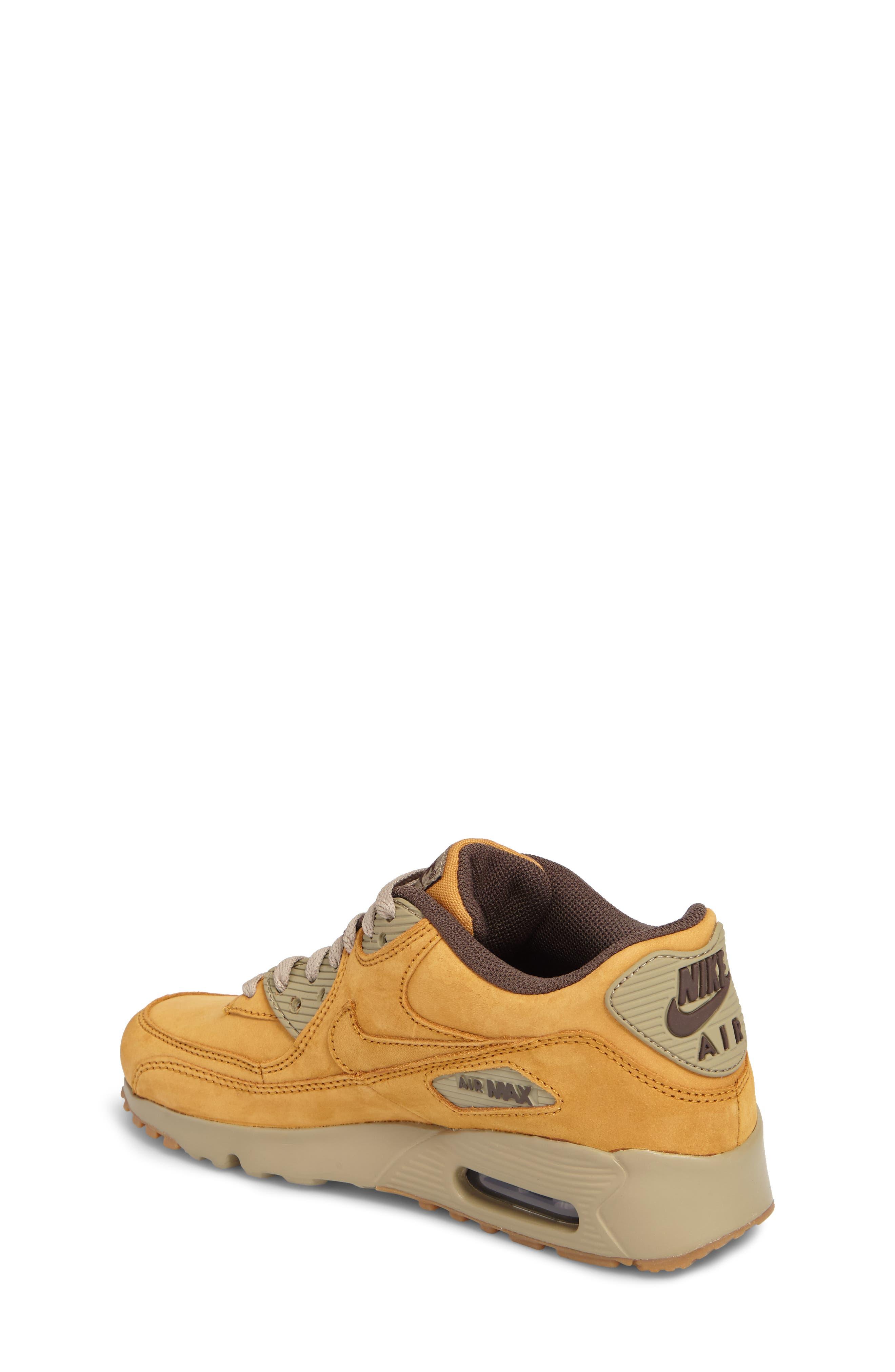 Air Max 90 Winter Premium Sneaker,                             Alternate thumbnail 2, color,                             BRONZE