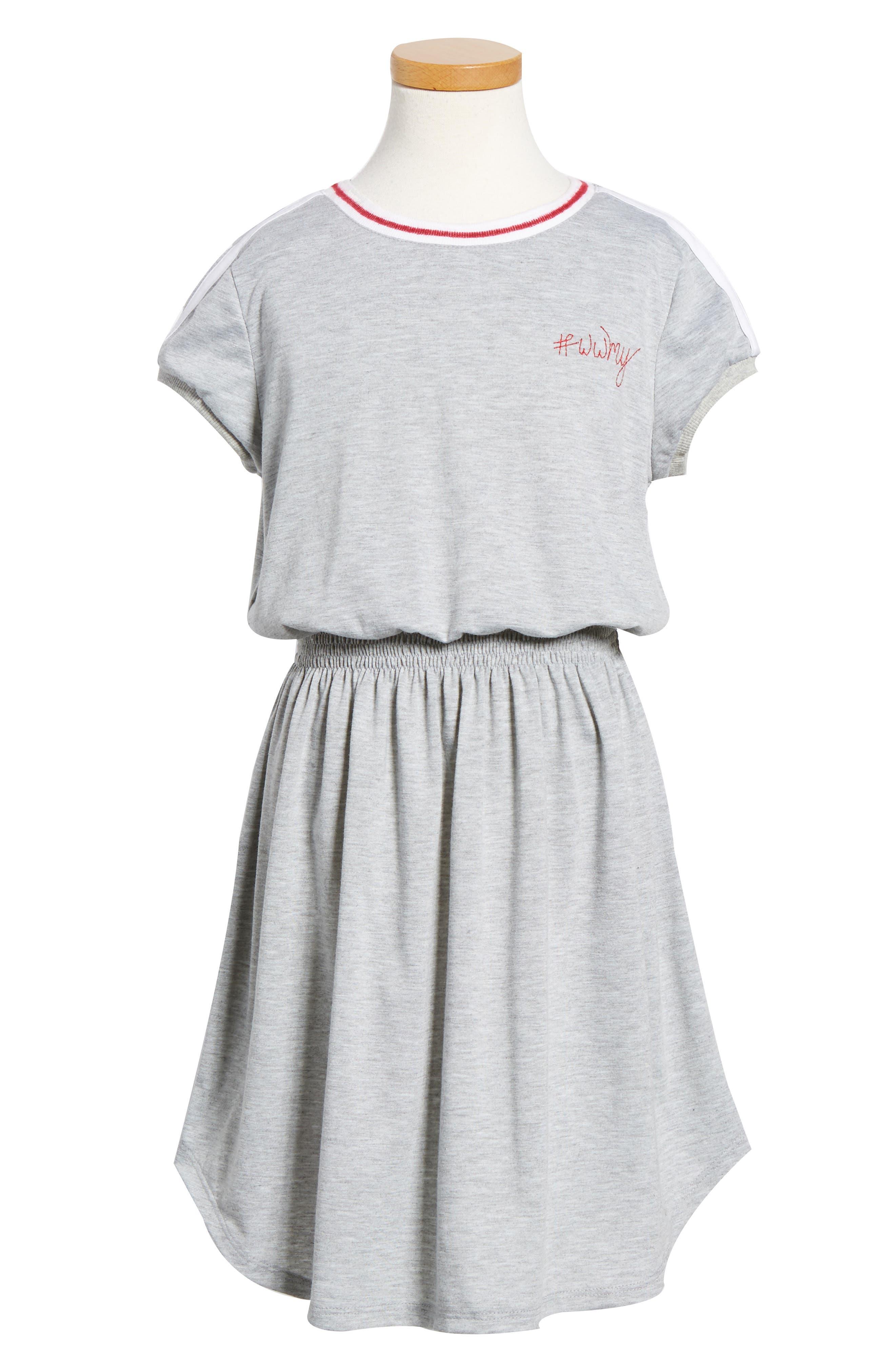 Knit Dress,                             Alternate thumbnail 4, color,                             020