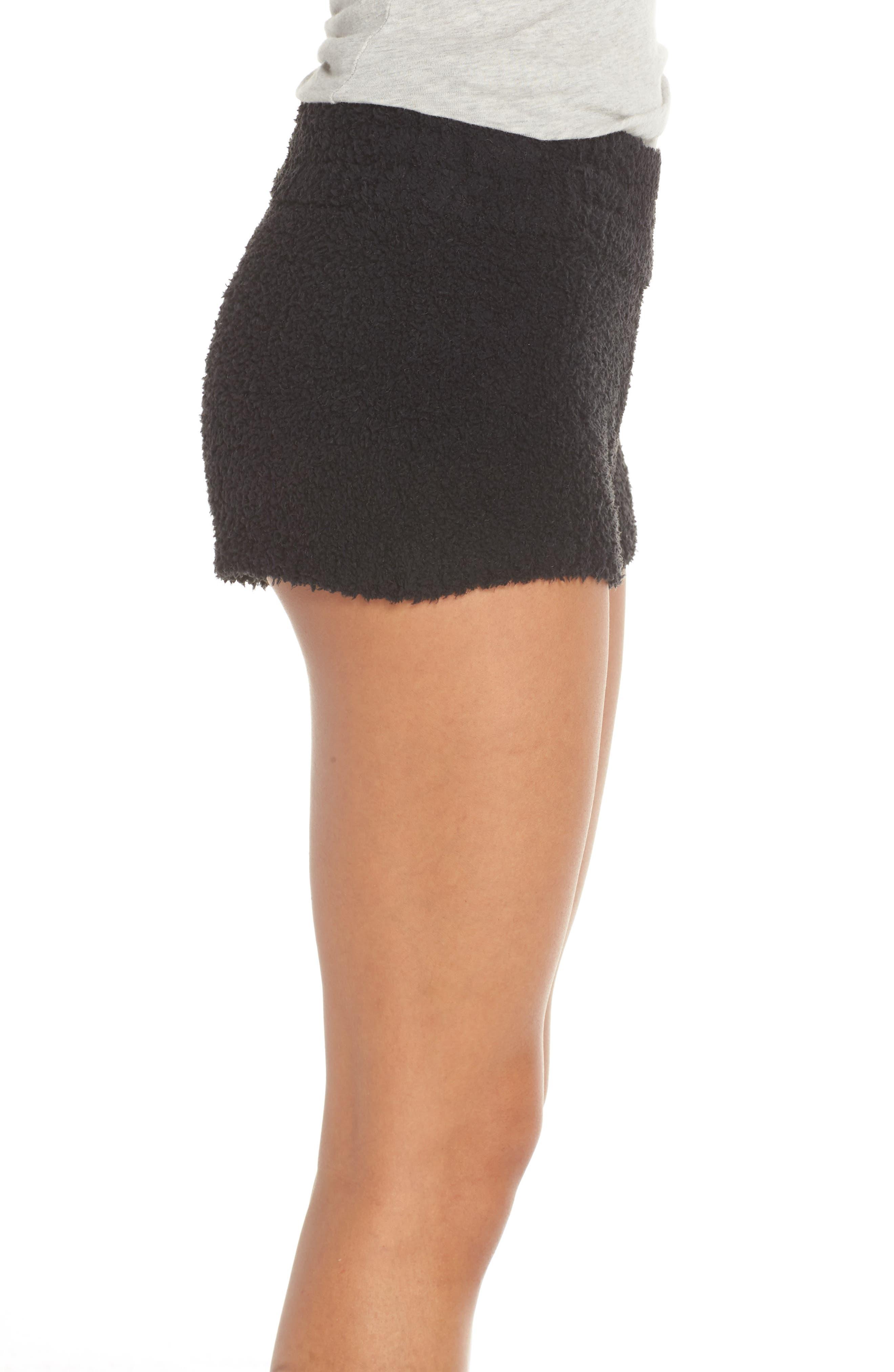 Shilo Shorts,                             Alternate thumbnail 3, color,                             BLACK