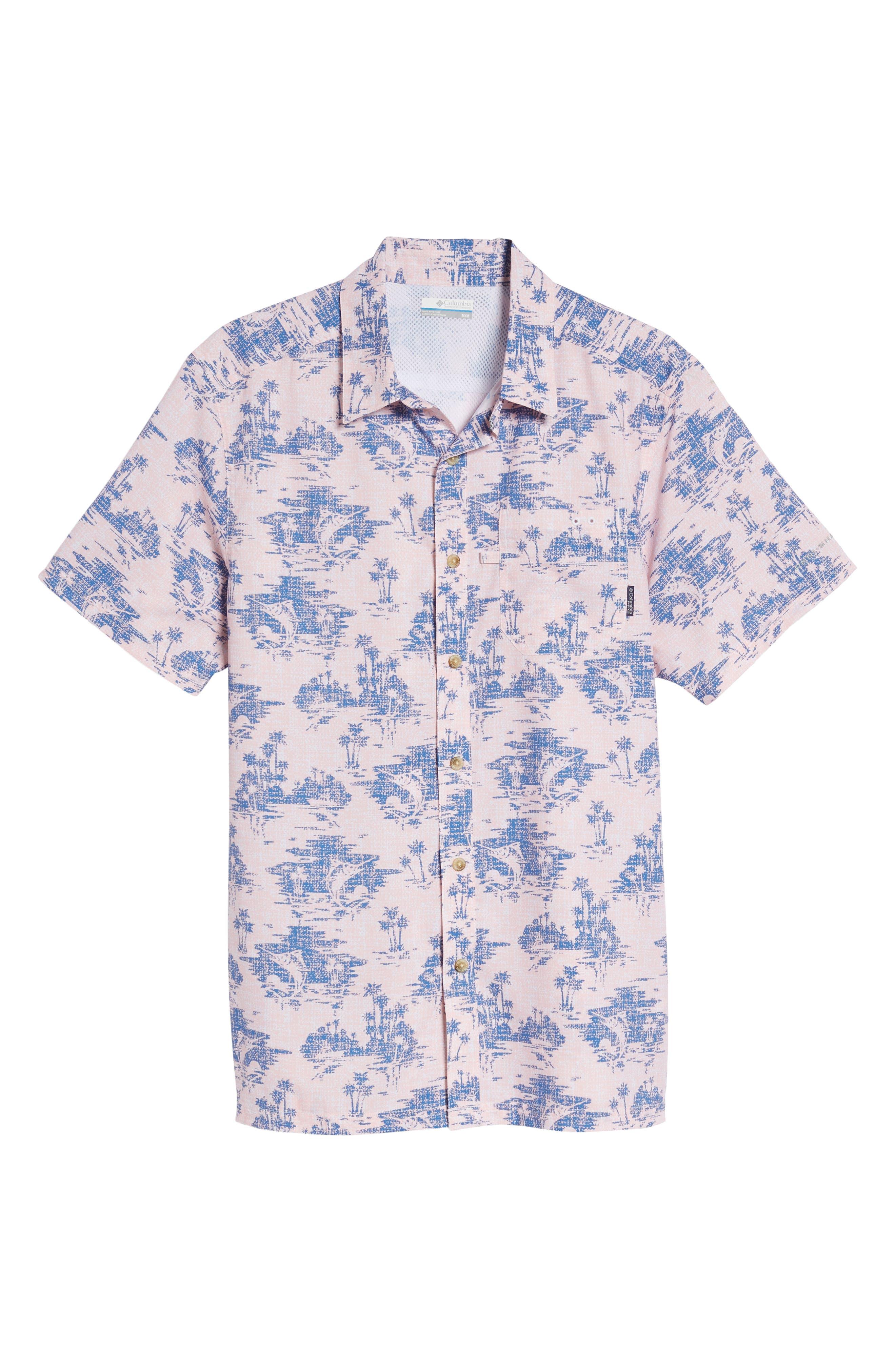 Super Slack Tide Patterned Woven Shirt,                             Alternate thumbnail 30, color,