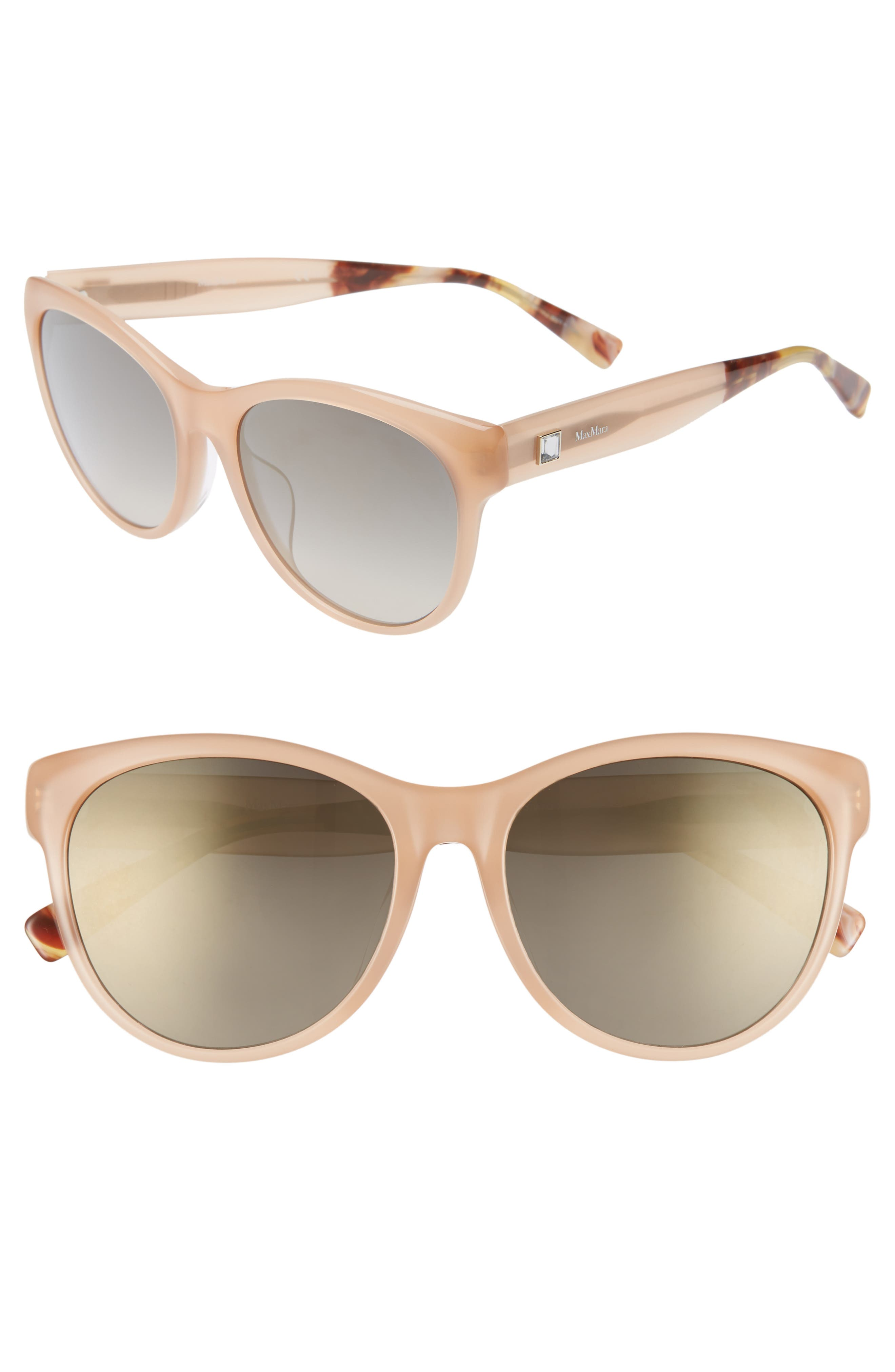Leisure 57mm Special Fit Sunglasses,                             Main thumbnail 1, color,                             250