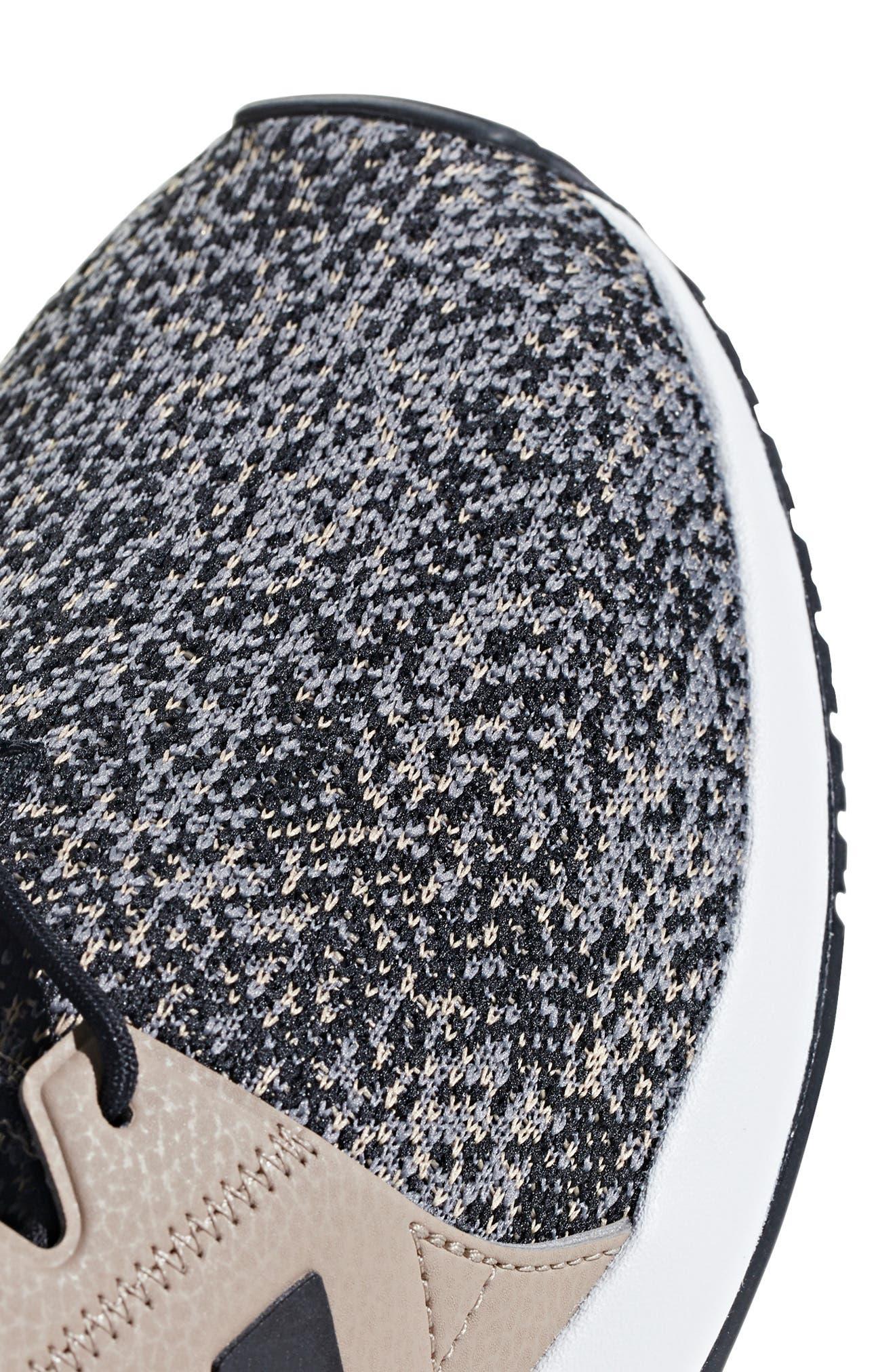 X_PLR Sneaker,                             Alternate thumbnail 6, color,                             KHAKI / CORE BLACK / WHITE