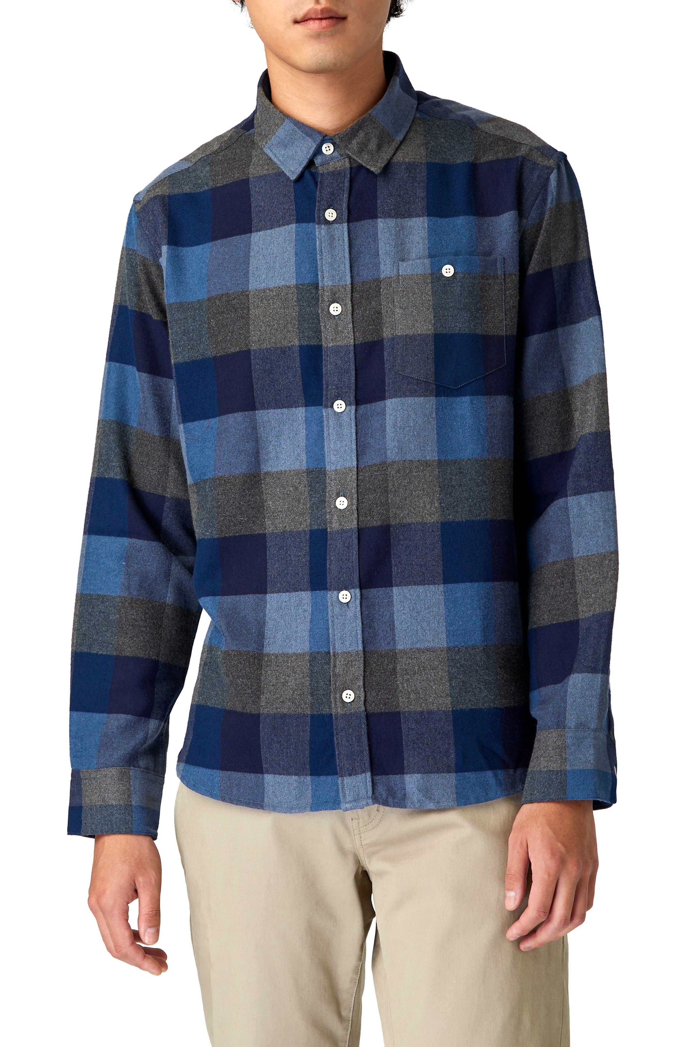 Cypress Check Sport Shirt, Main, color, 410
