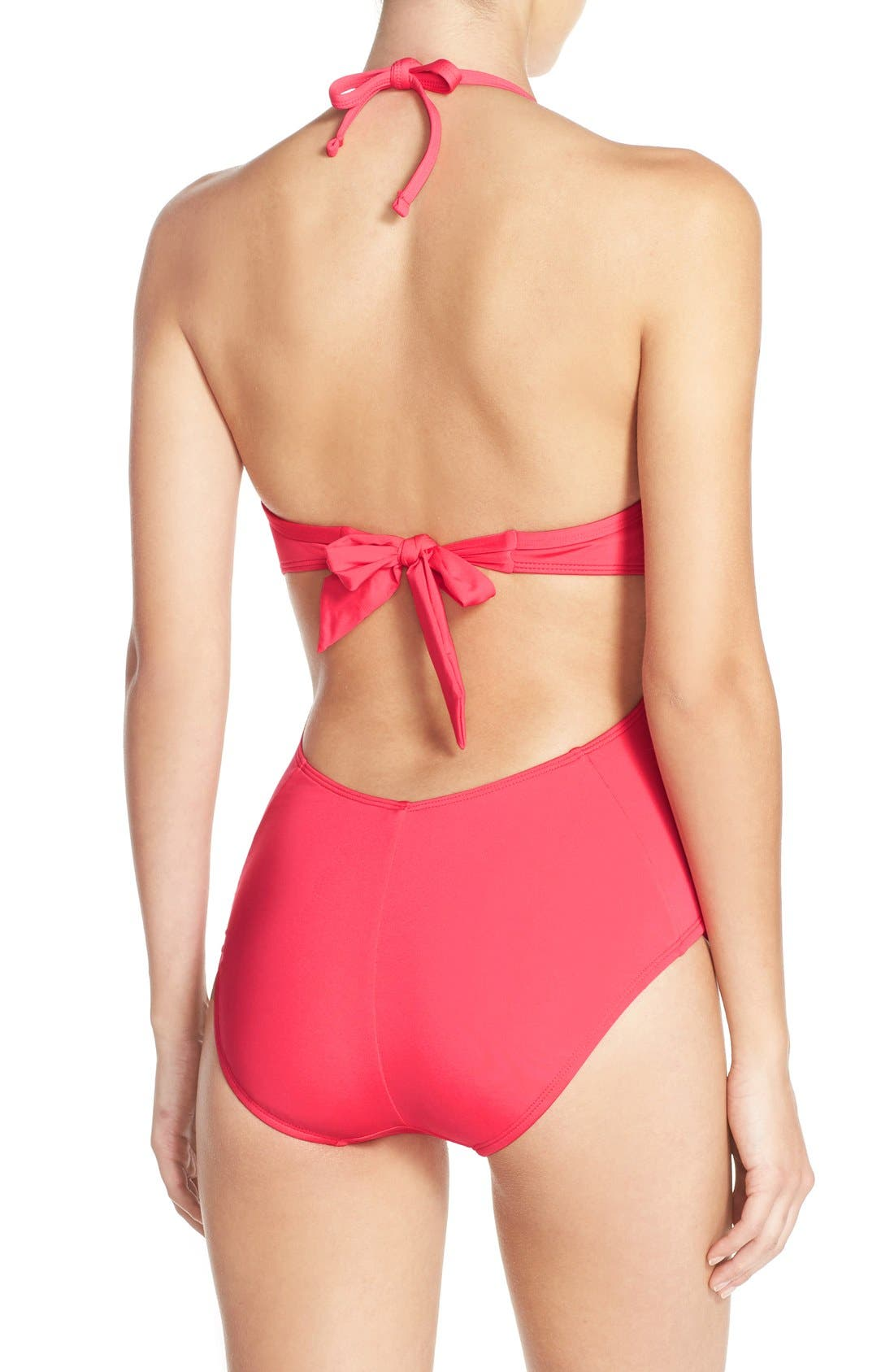 Push-Up One-Piece Swimsuit,                             Alternate thumbnail 13, color,