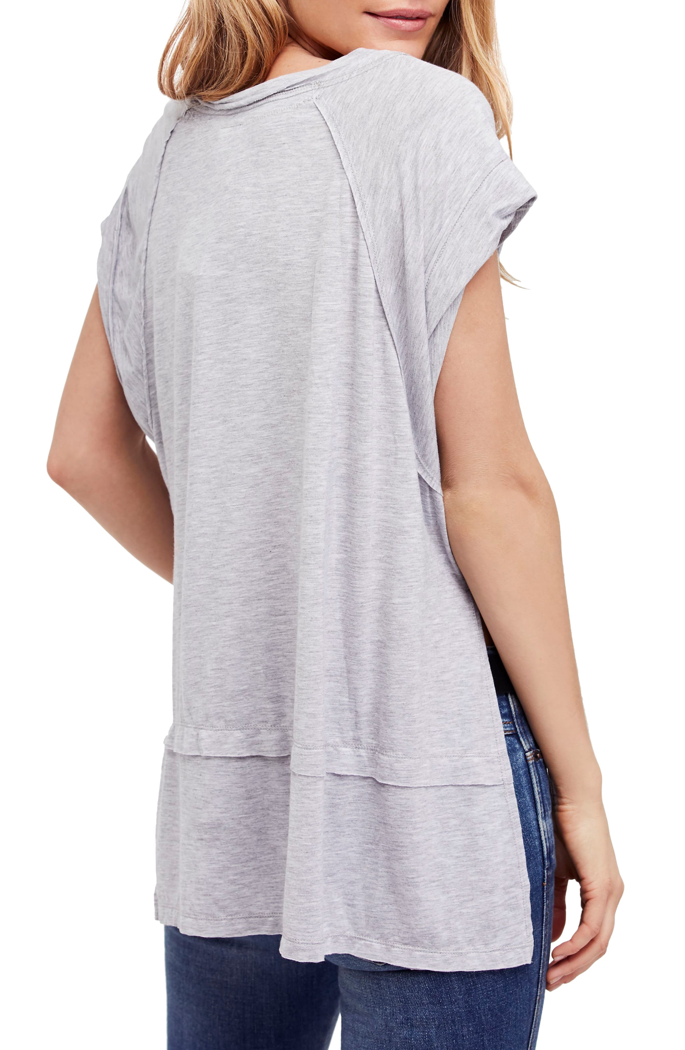 We the Free by Free People Voyage Tee,                             Alternate thumbnail 7, color,