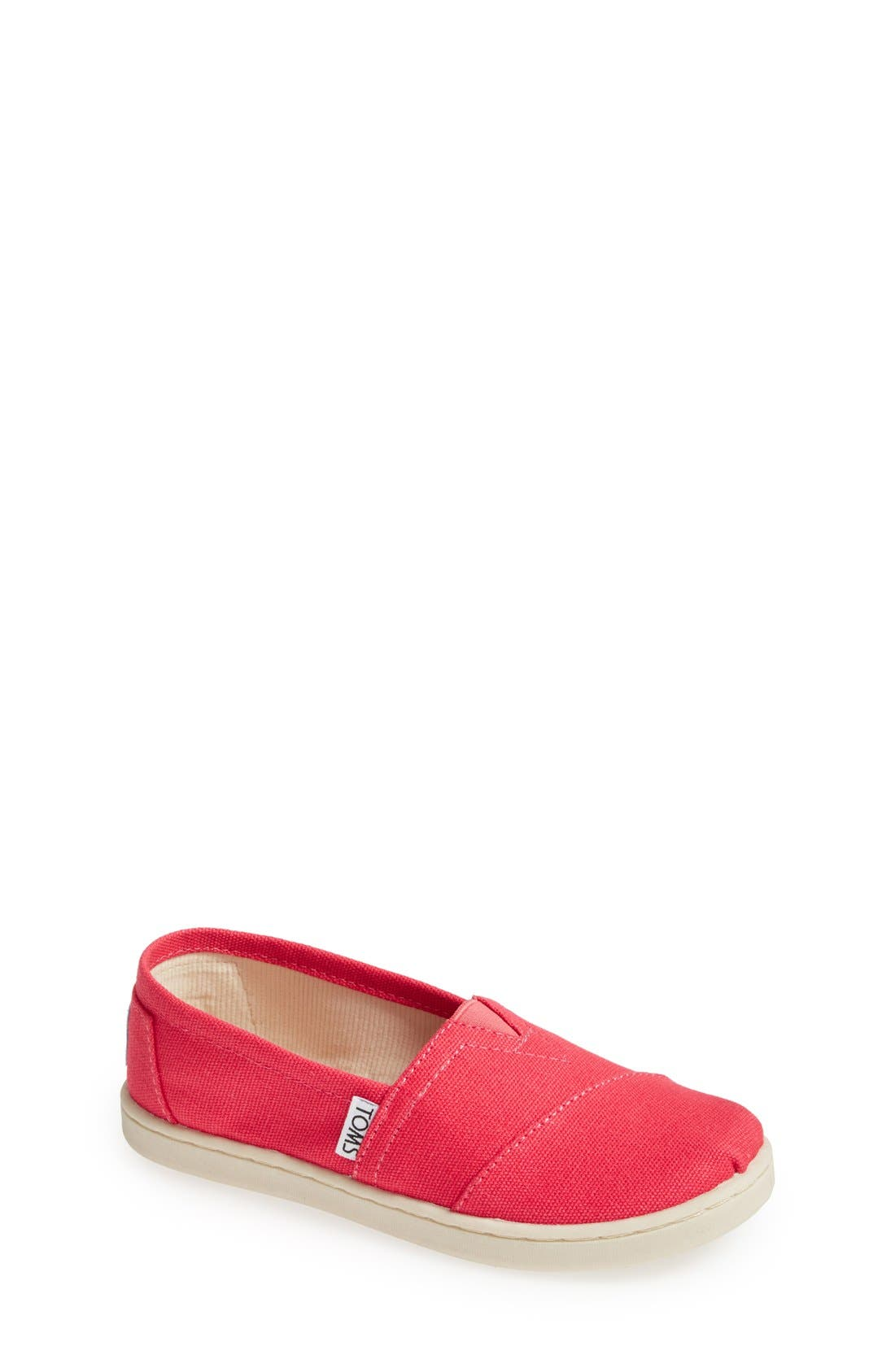 'Classic - Youth' Canvas Slip-On,                             Main thumbnail 3, color,