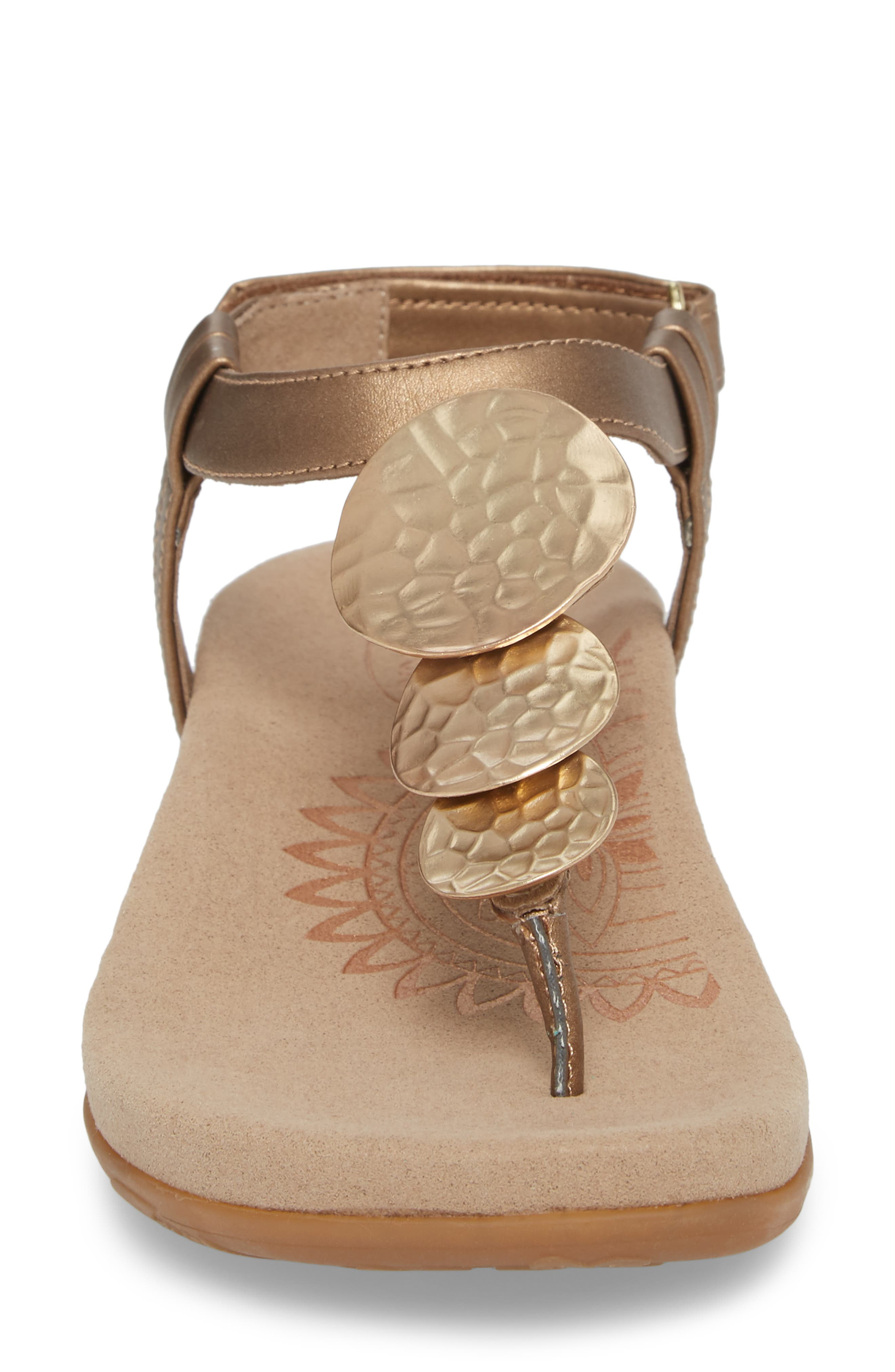 Olive T-Strap Sandal,                             Alternate thumbnail 12, color,