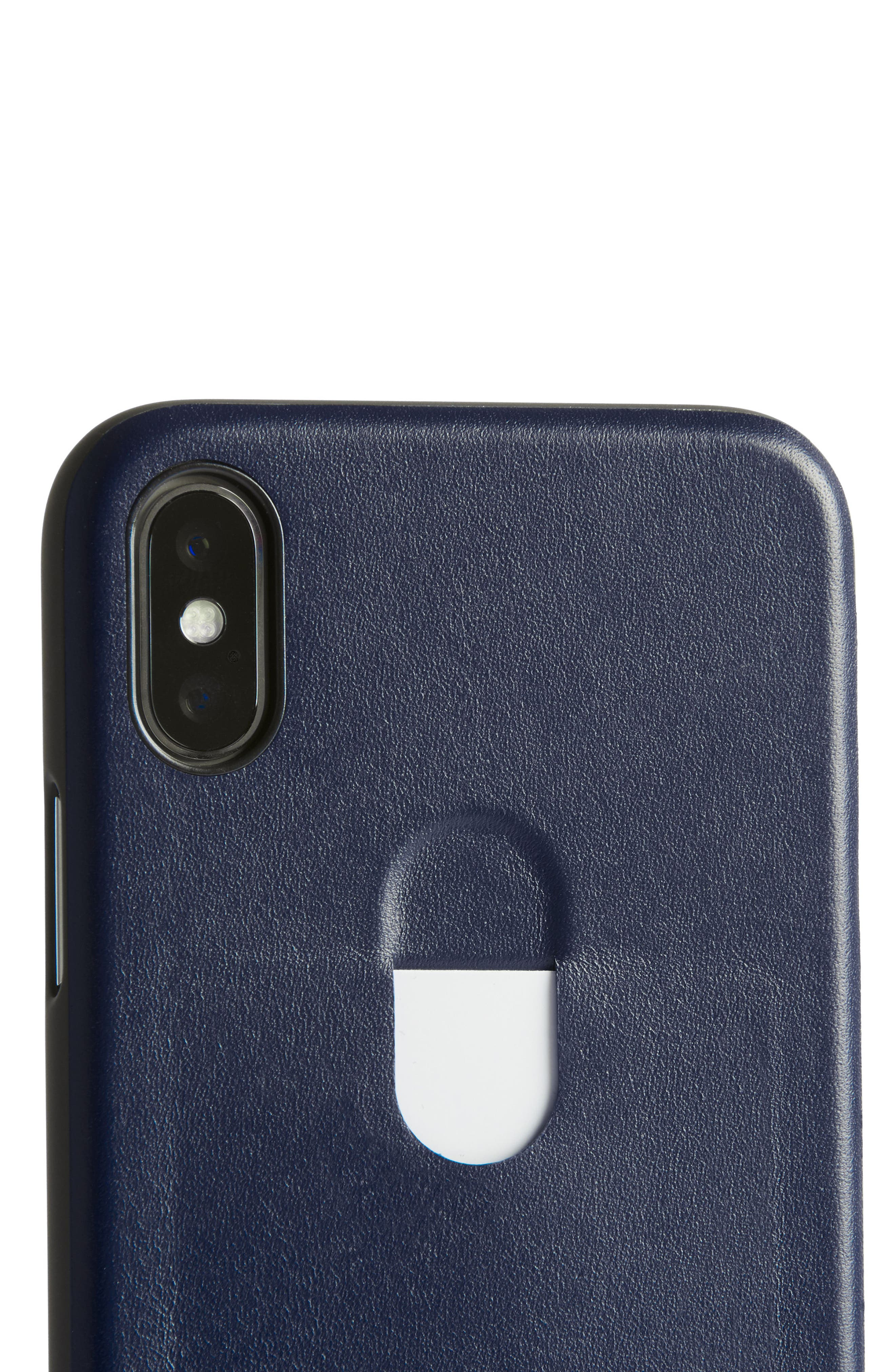 Single Card iPhone X Case,                             Alternate thumbnail 16, color,