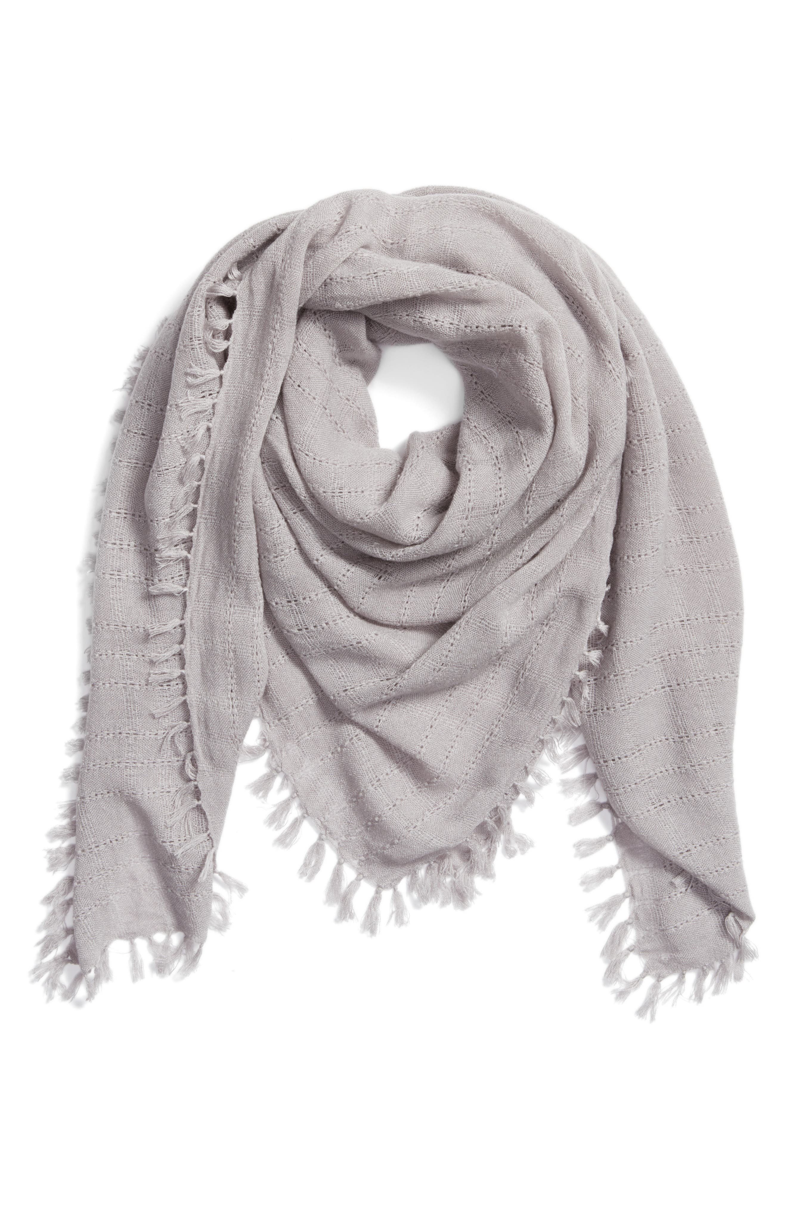 Knotted Tassel Scarf,                             Alternate thumbnail 7, color,