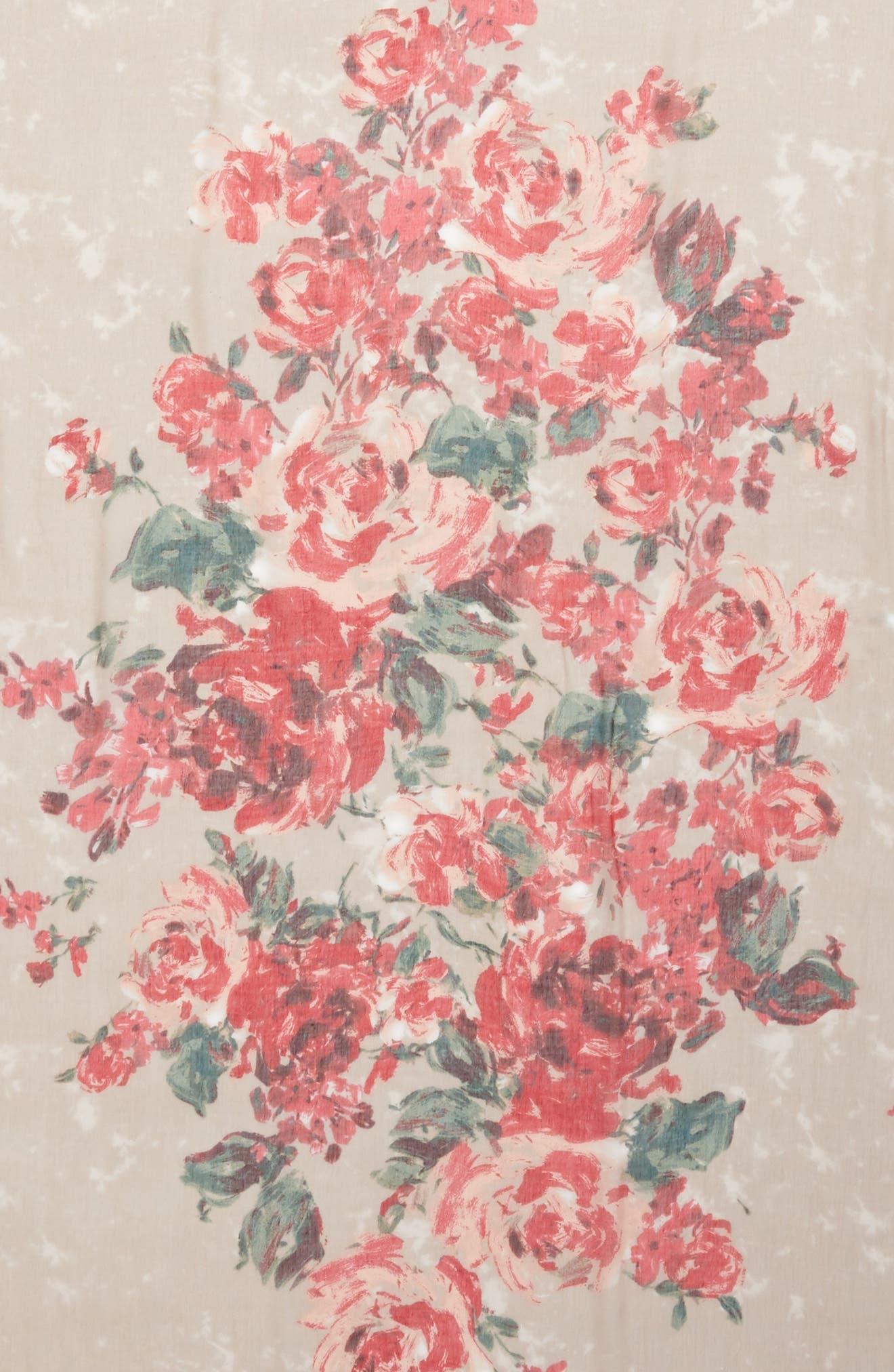 Print Modal & Silk Scarf,                             Alternate thumbnail 57, color,
