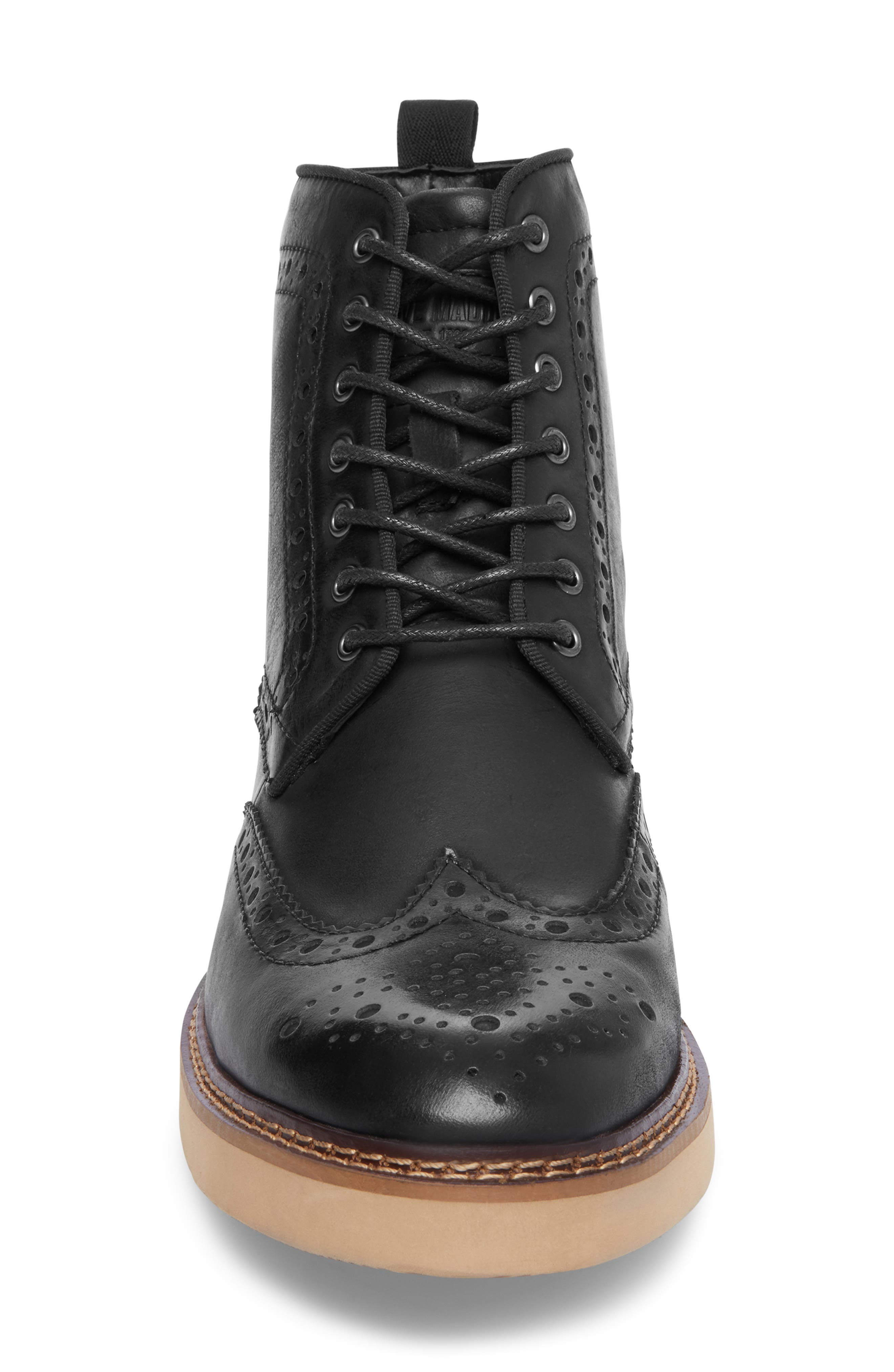 Goddard Wingtip Boot,                             Alternate thumbnail 4, color,                             001