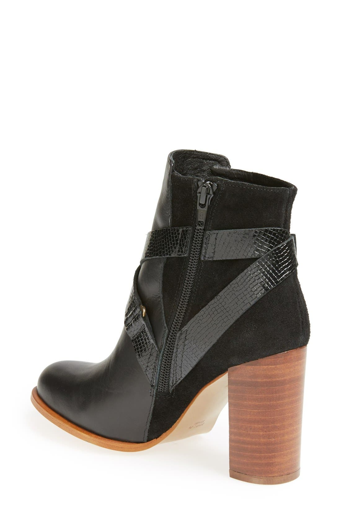 'Aroma' Ankle Boot,                             Alternate thumbnail 2, color,                             001
