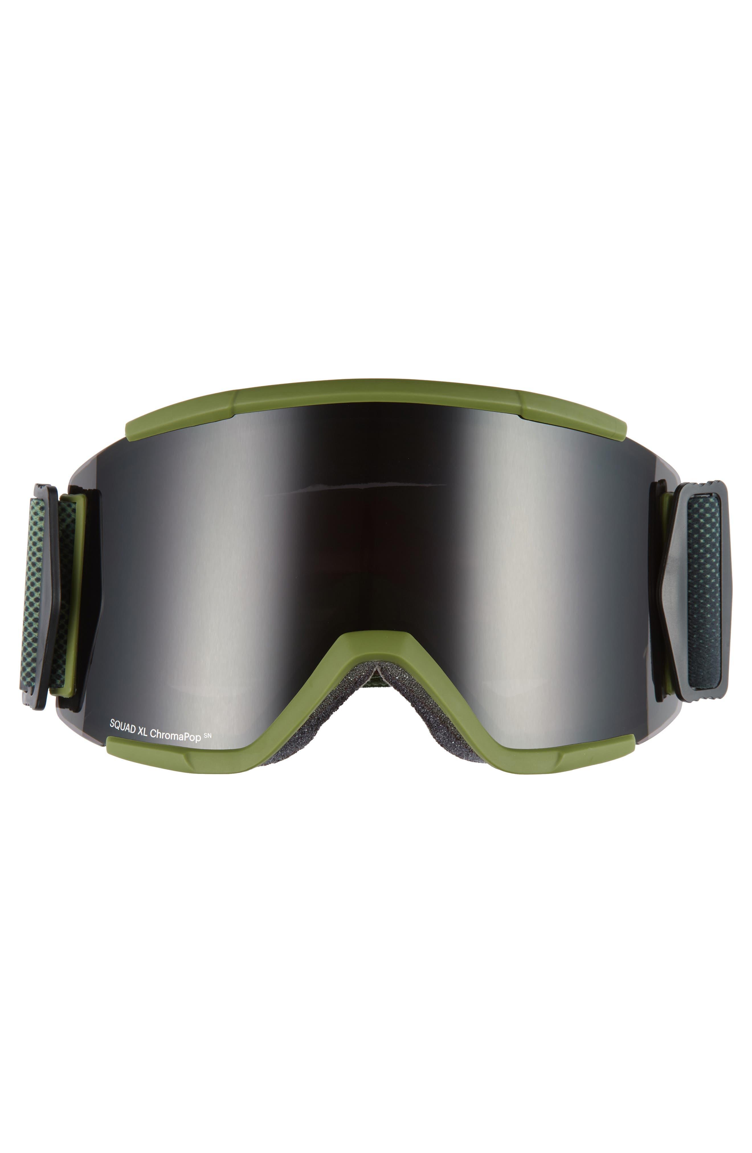 Squad XL Chromapop 185mm Snow Goggles,                             Alternate thumbnail 2, color,                             MOSS SURPLUS