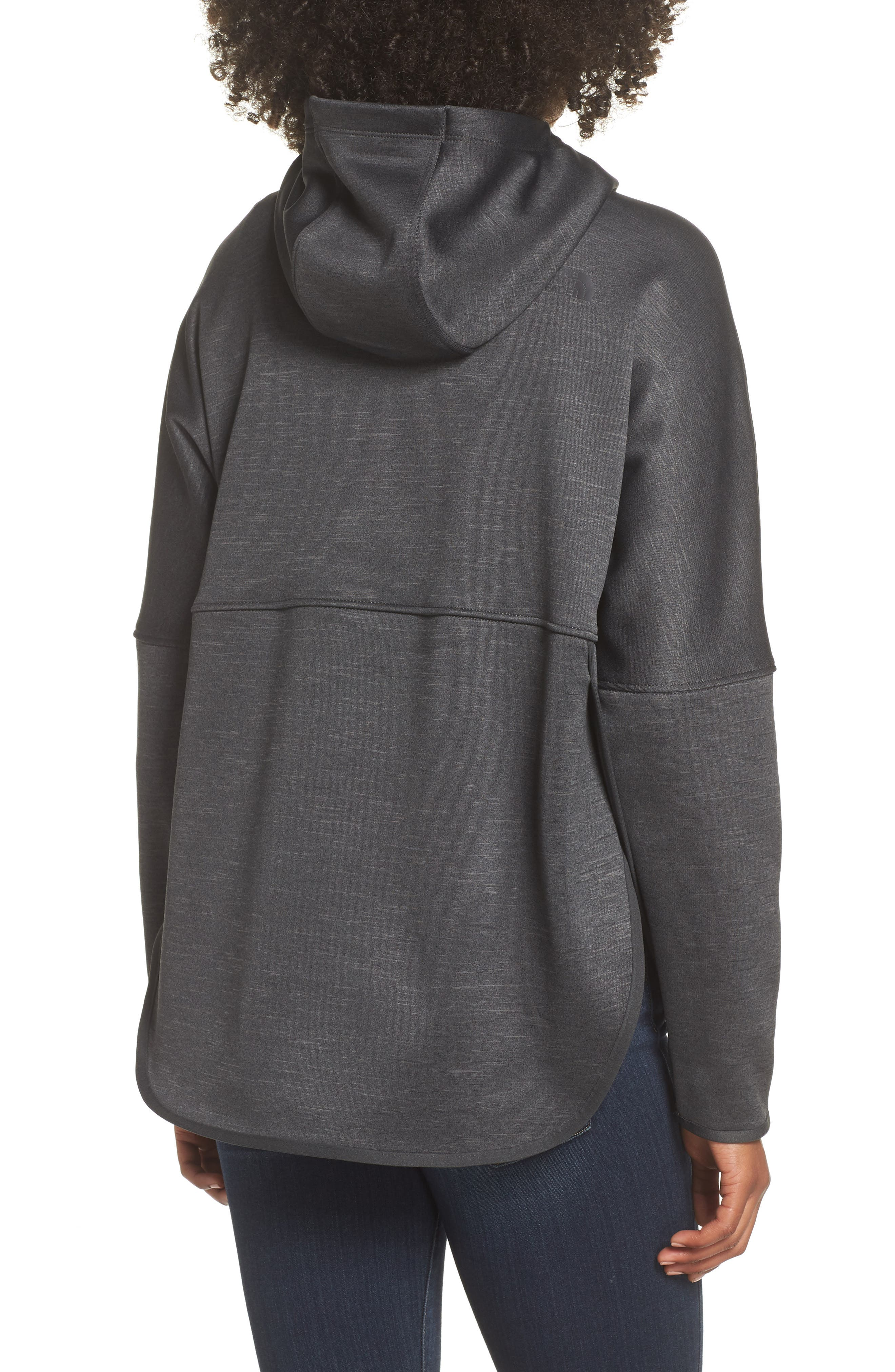 Cozy Slacker Jacket,                             Alternate thumbnail 2, color,                             TNF DARK GREY HEATHER