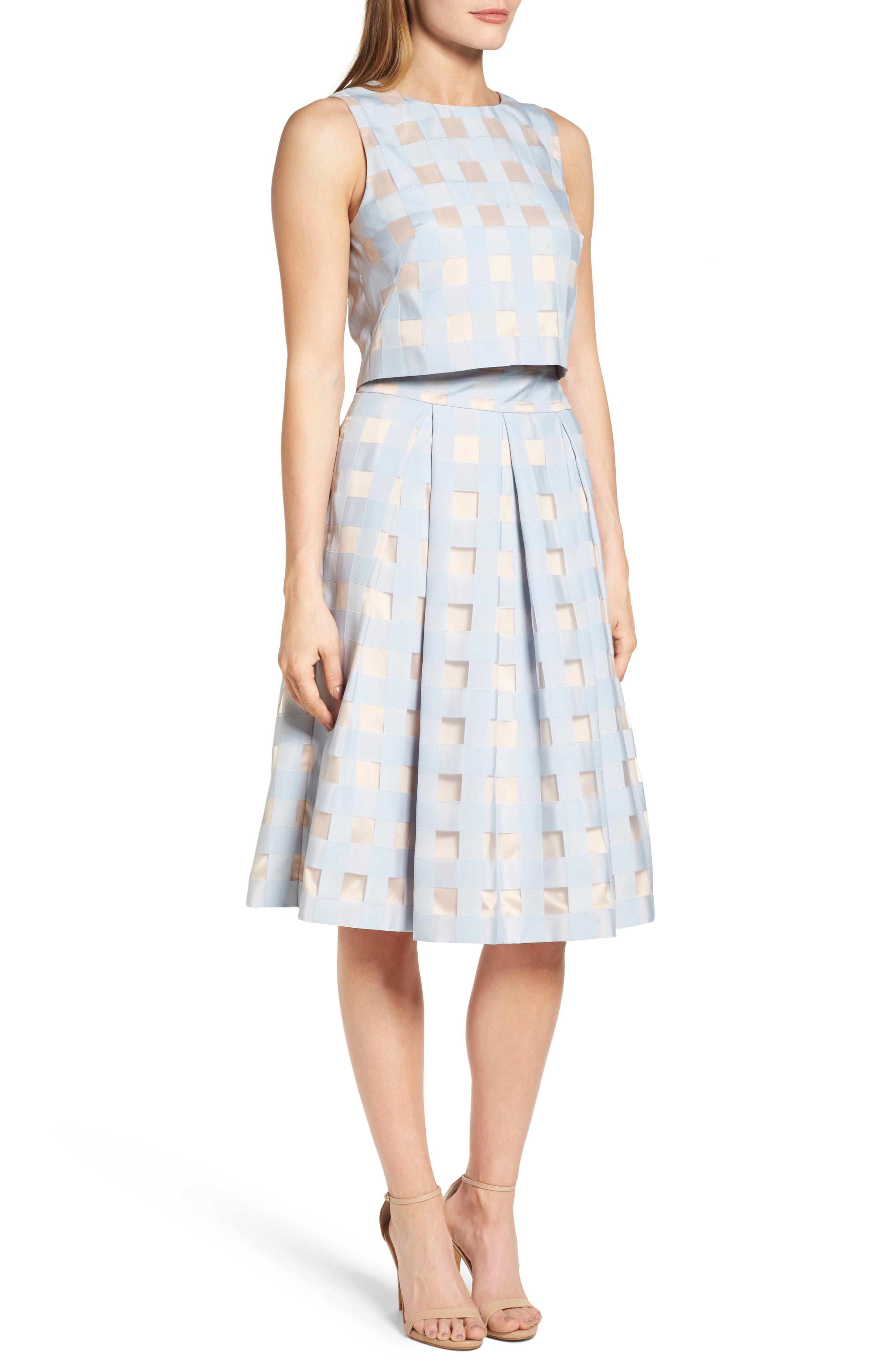 Two-Piece Dress,                             Alternate thumbnail 3, color,                             421