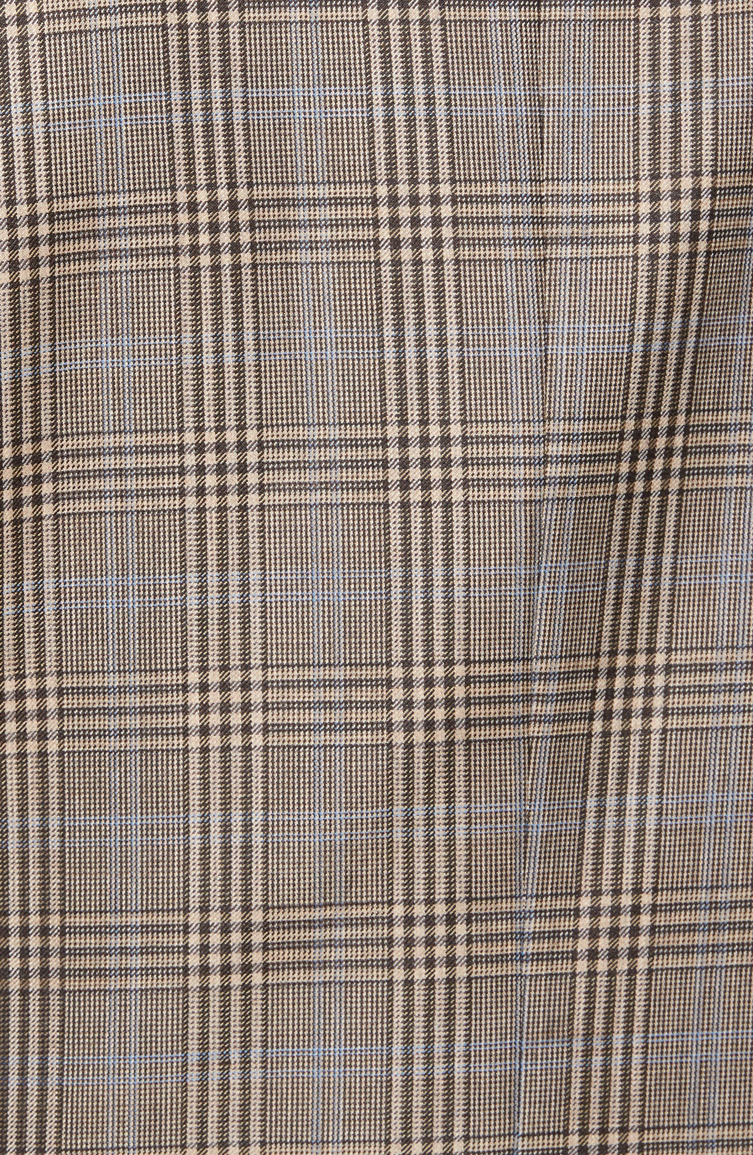 Classic Fit Plaid Wool Sport Coat,                             Alternate thumbnail 6, color,                             210