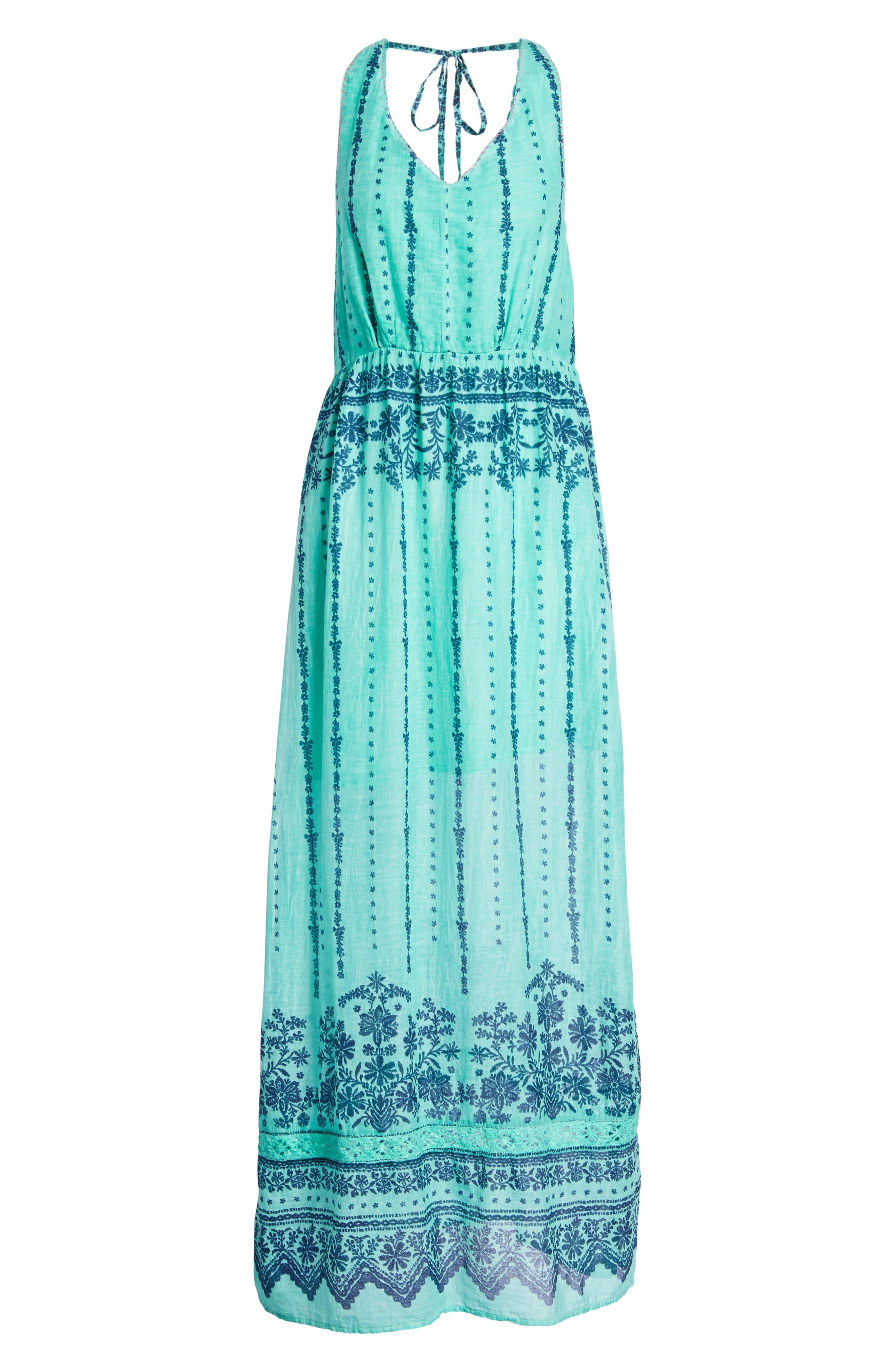 La Playita Maxi Dress,                             Alternate thumbnail 7, color,                             300