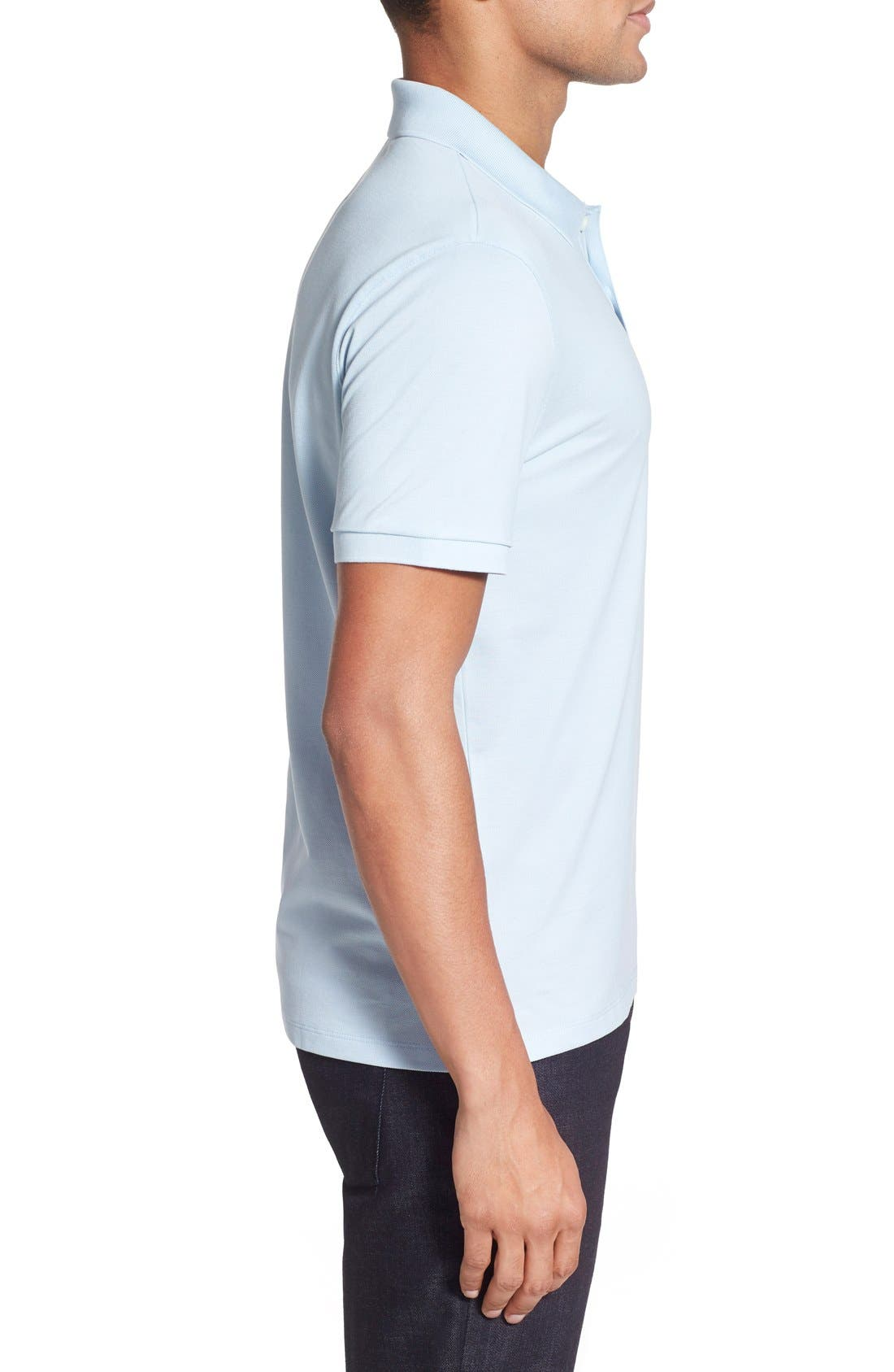 'Pallas' Regular Fit Logo Embroidered Polo Shirt,                             Alternate thumbnail 63, color,