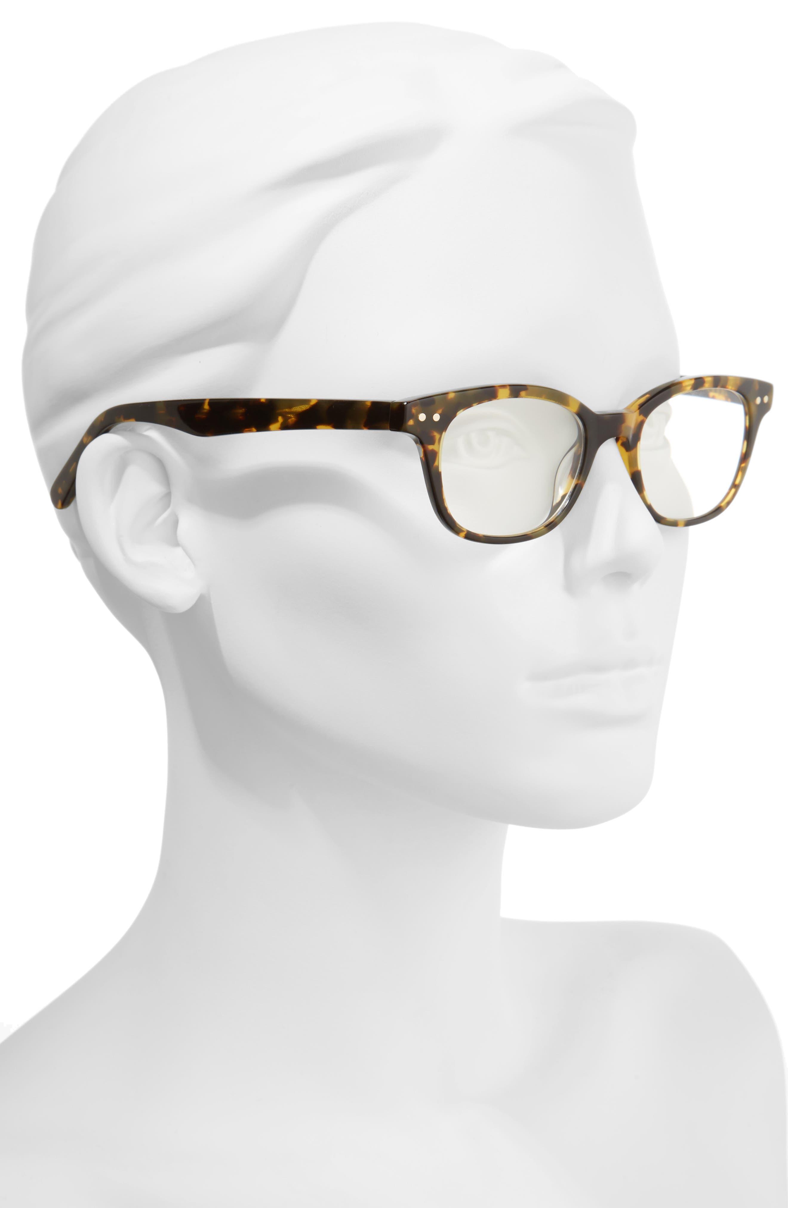KATE SPADE NEW YORK,                             rebecca 49mm reading glasses,                             Alternate thumbnail 2, color,                             TOKYO TORTOISE