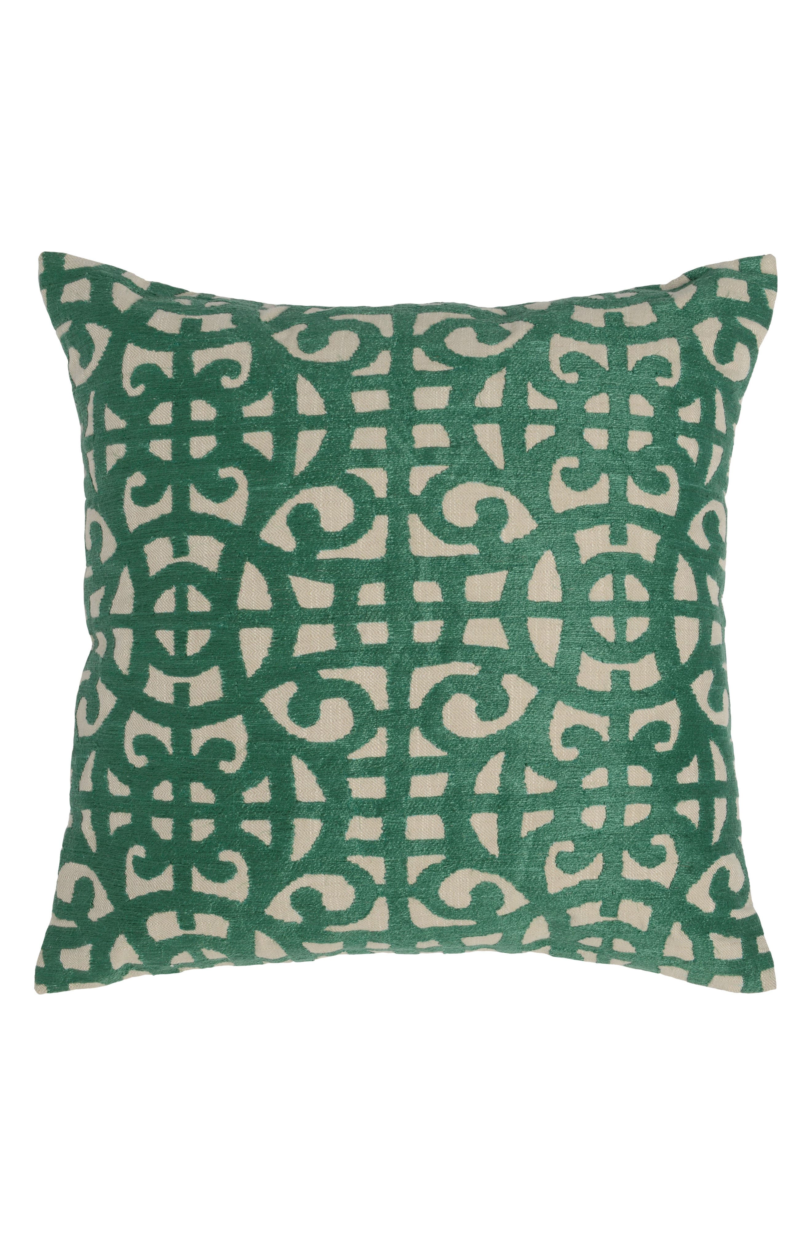Ace Pine Accent Pillow,                             Main thumbnail 1, color,                             GREEN