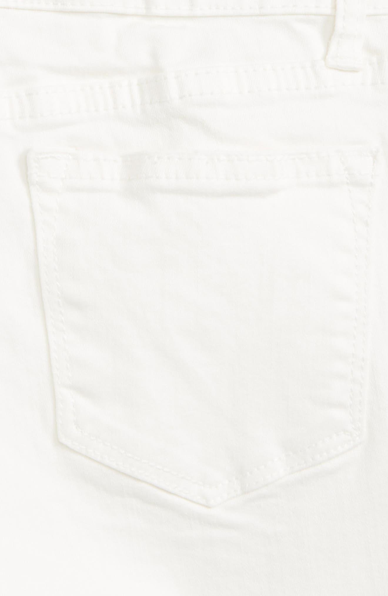 Distressed Bermuda Shorts,                             Alternate thumbnail 3, color,                             100