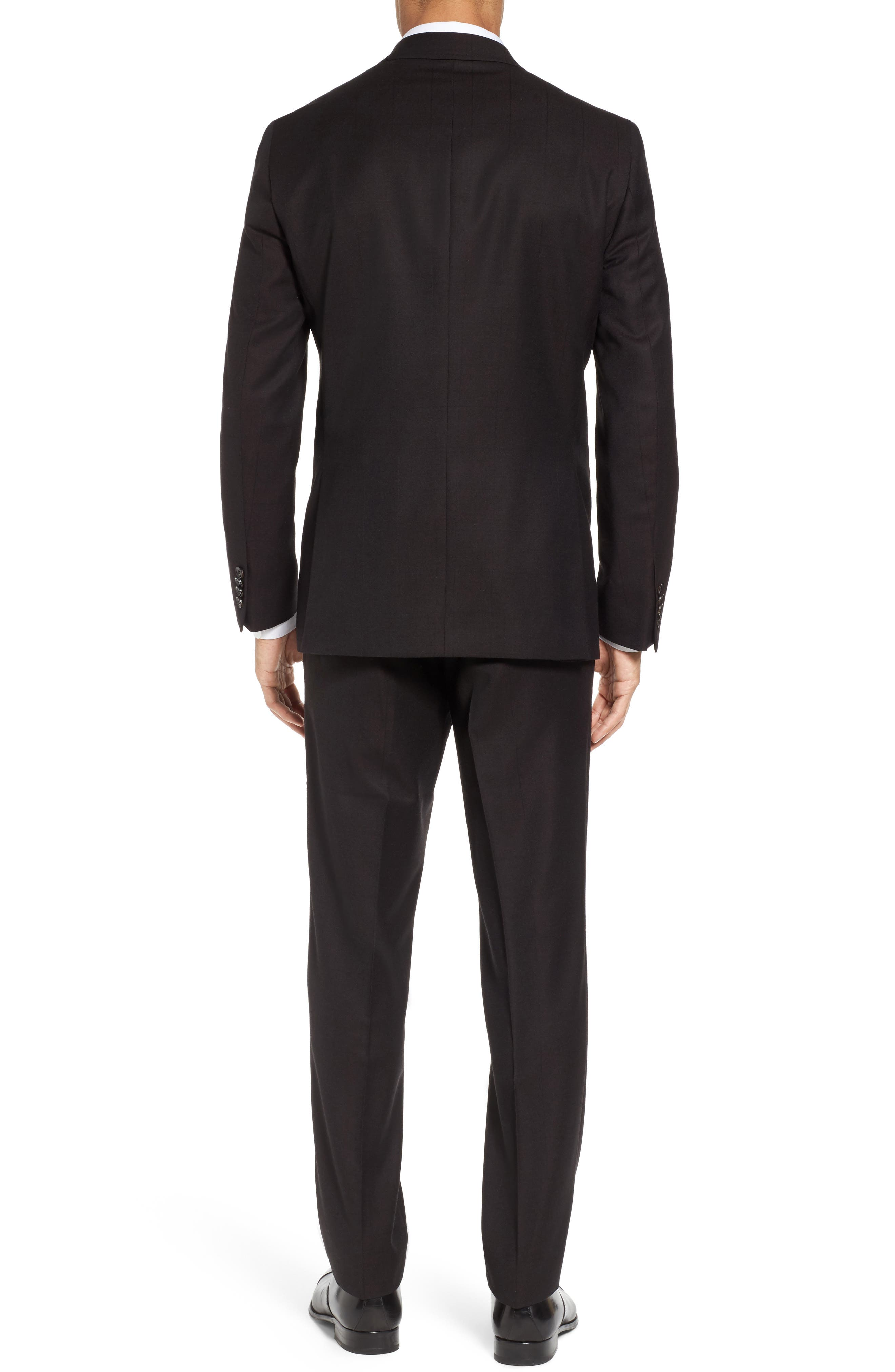 Jay Trim Fit Solid Wool Suit,                             Alternate thumbnail 2, color,                             200