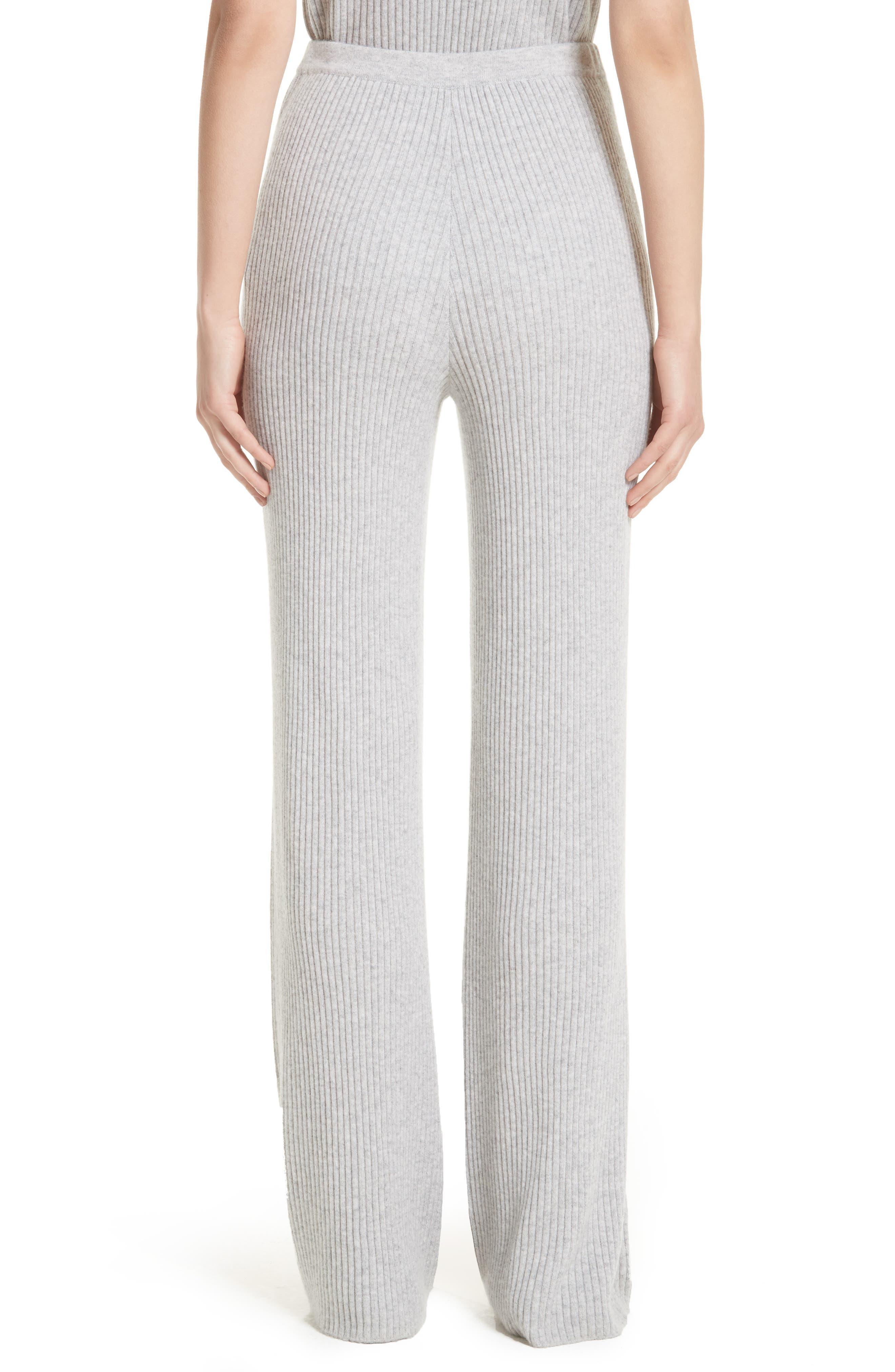 Cashmere Knit Pants,                             Alternate thumbnail 2, color,                             060