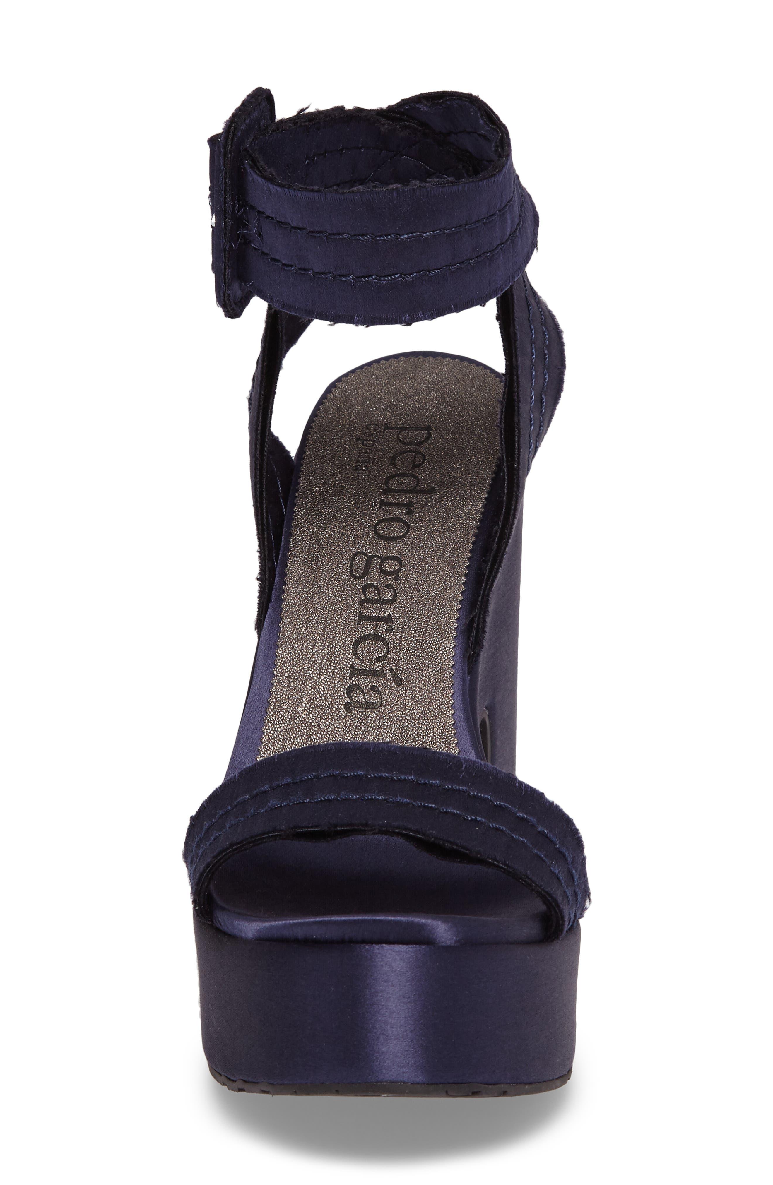 Thora Platform Sandal,                             Alternate thumbnail 4, color,                             400