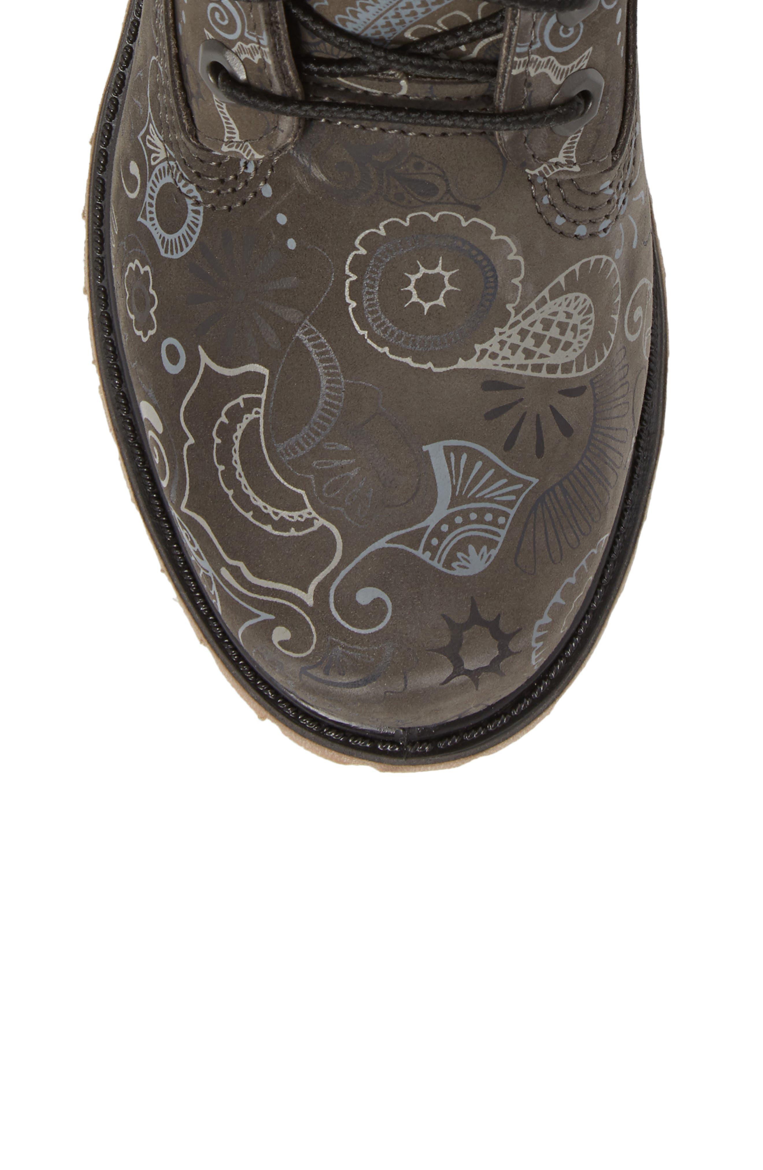 Henna Premium Boot,                             Alternate thumbnail 5, color,                             065