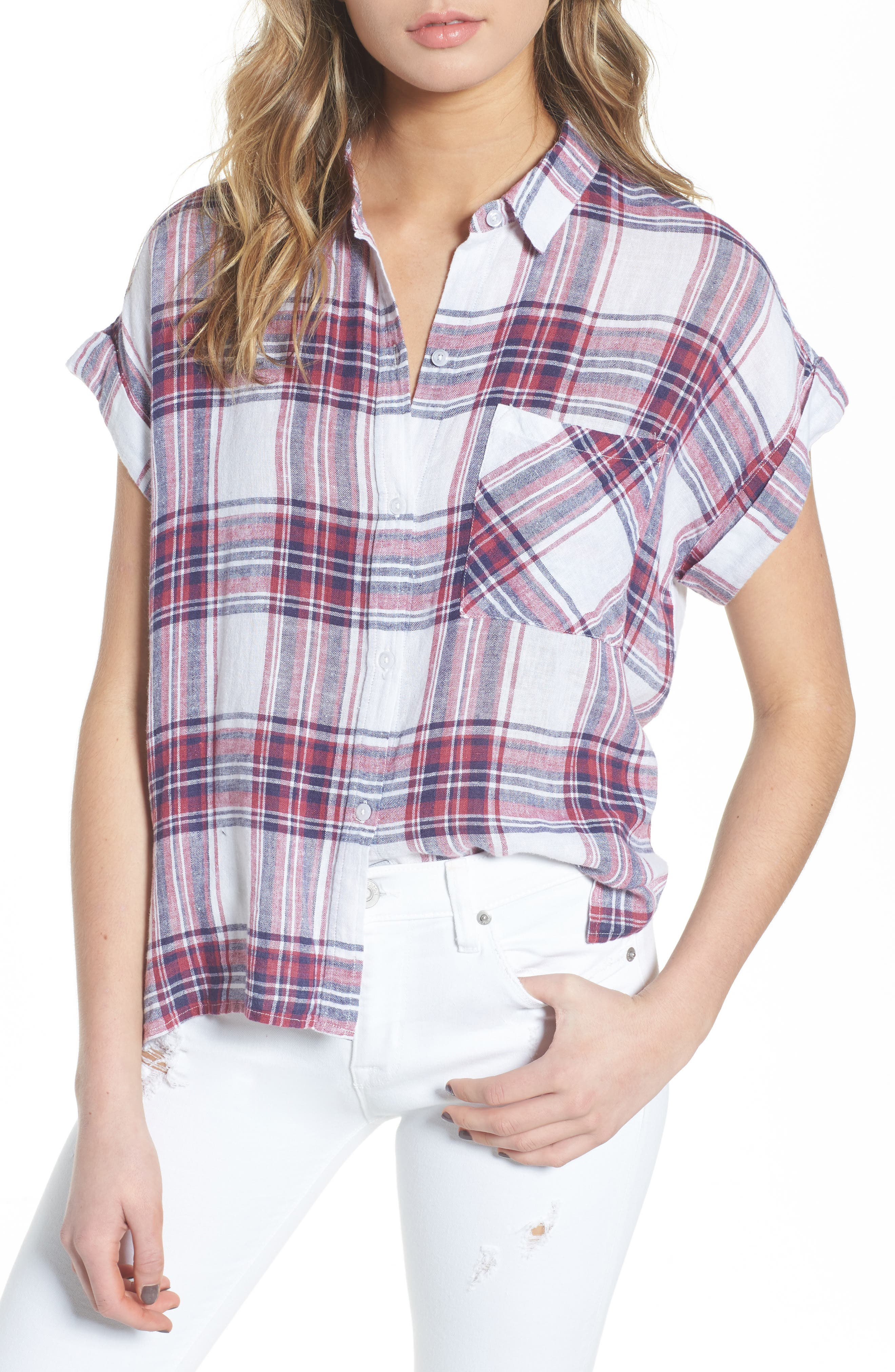 Whitney Shirt,                         Main,                         color, 100