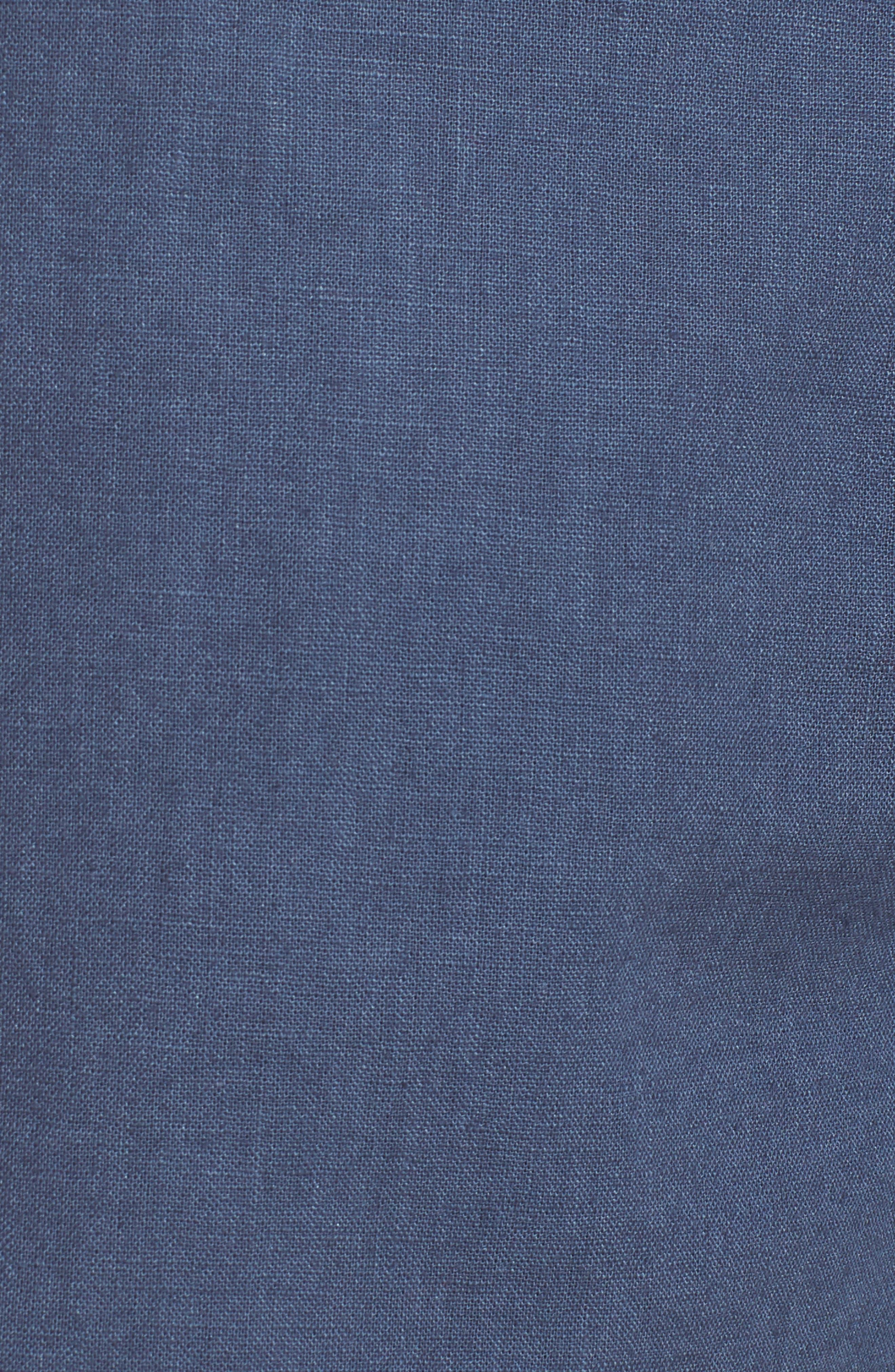 Islander Linen & Cotton Shorts,                             Alternate thumbnail 5, color,                             410