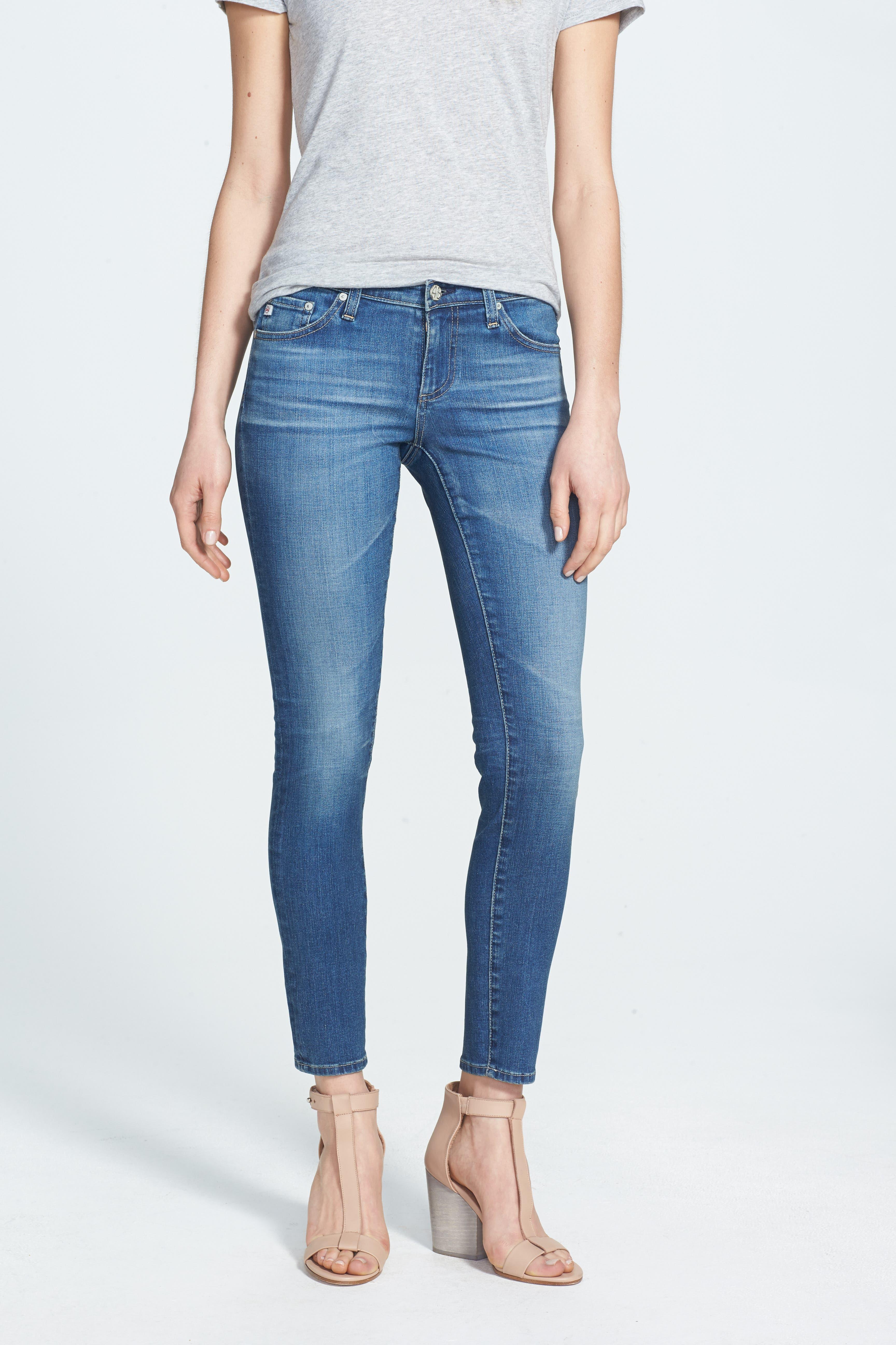AG,                             The Legging Ankle Jeans,                             Main thumbnail 1, color,                             400