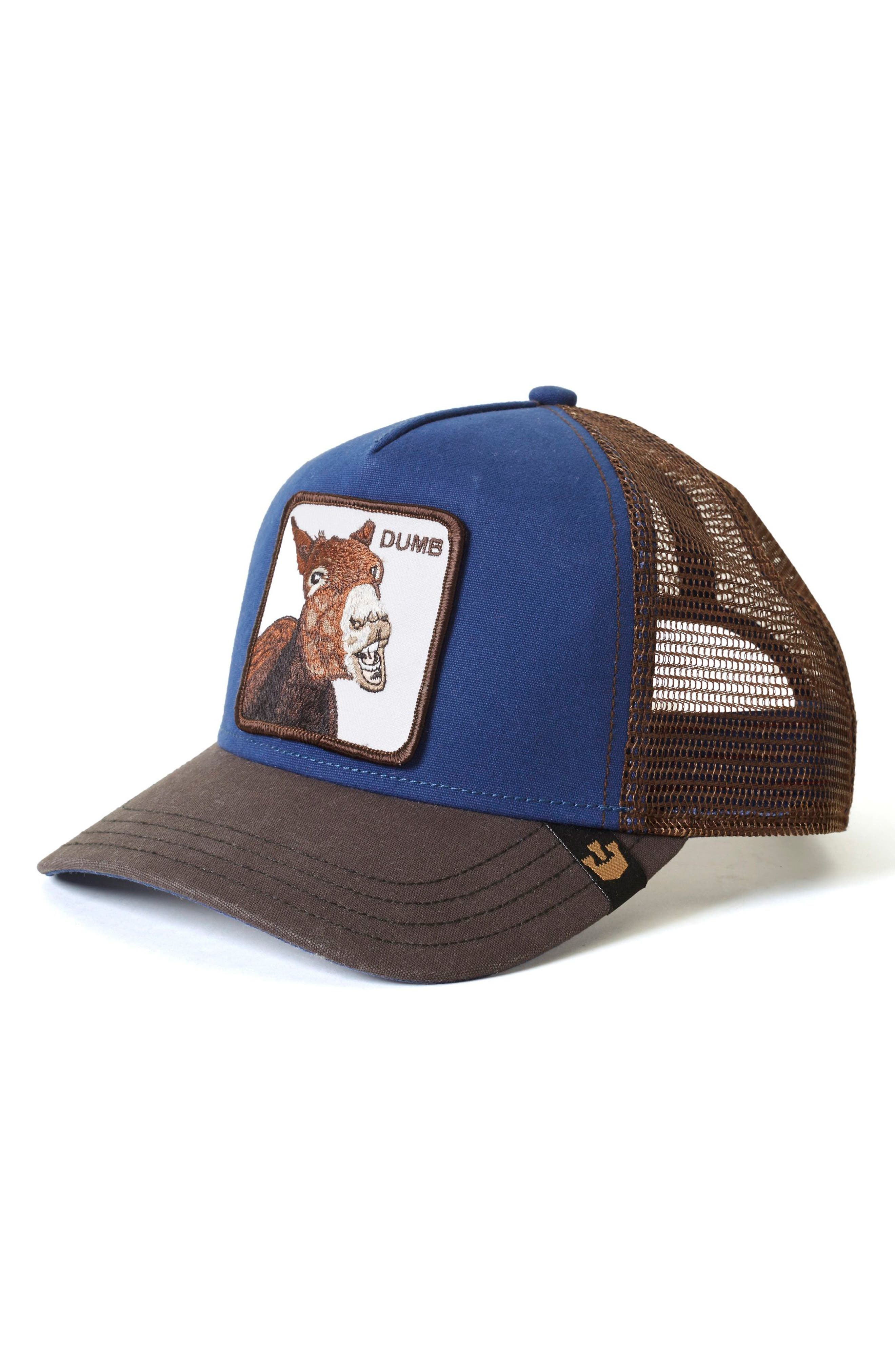 Donkey Trucker Hat,                             Main thumbnail 1, color,                             400