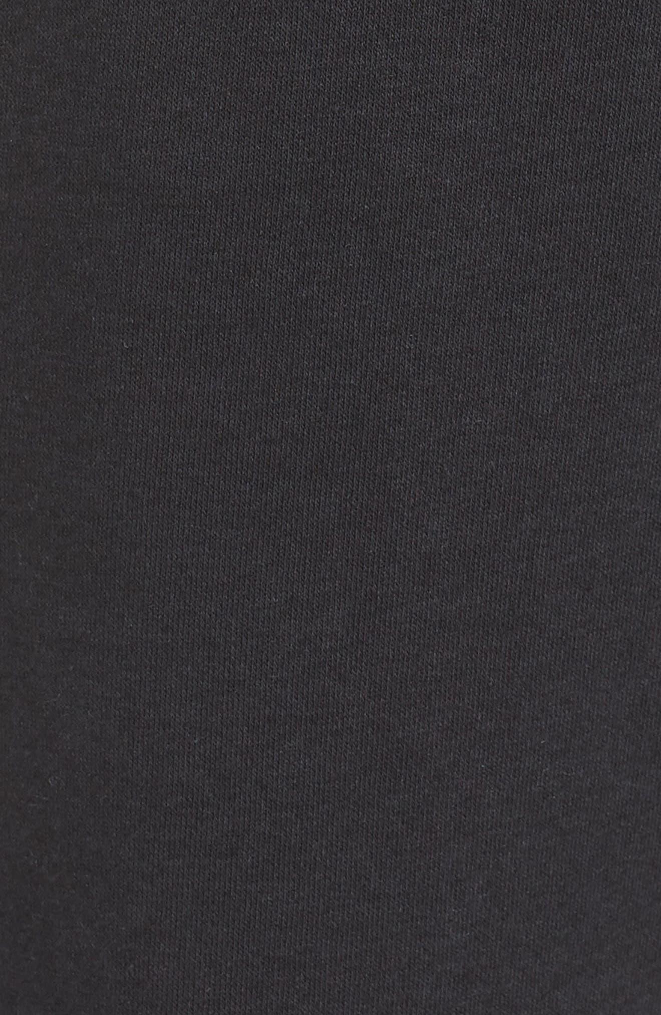 Sportswear Rally Jogger Pants,                             Alternate thumbnail 6, color,                             BLACK/ BLACK/ WHITE