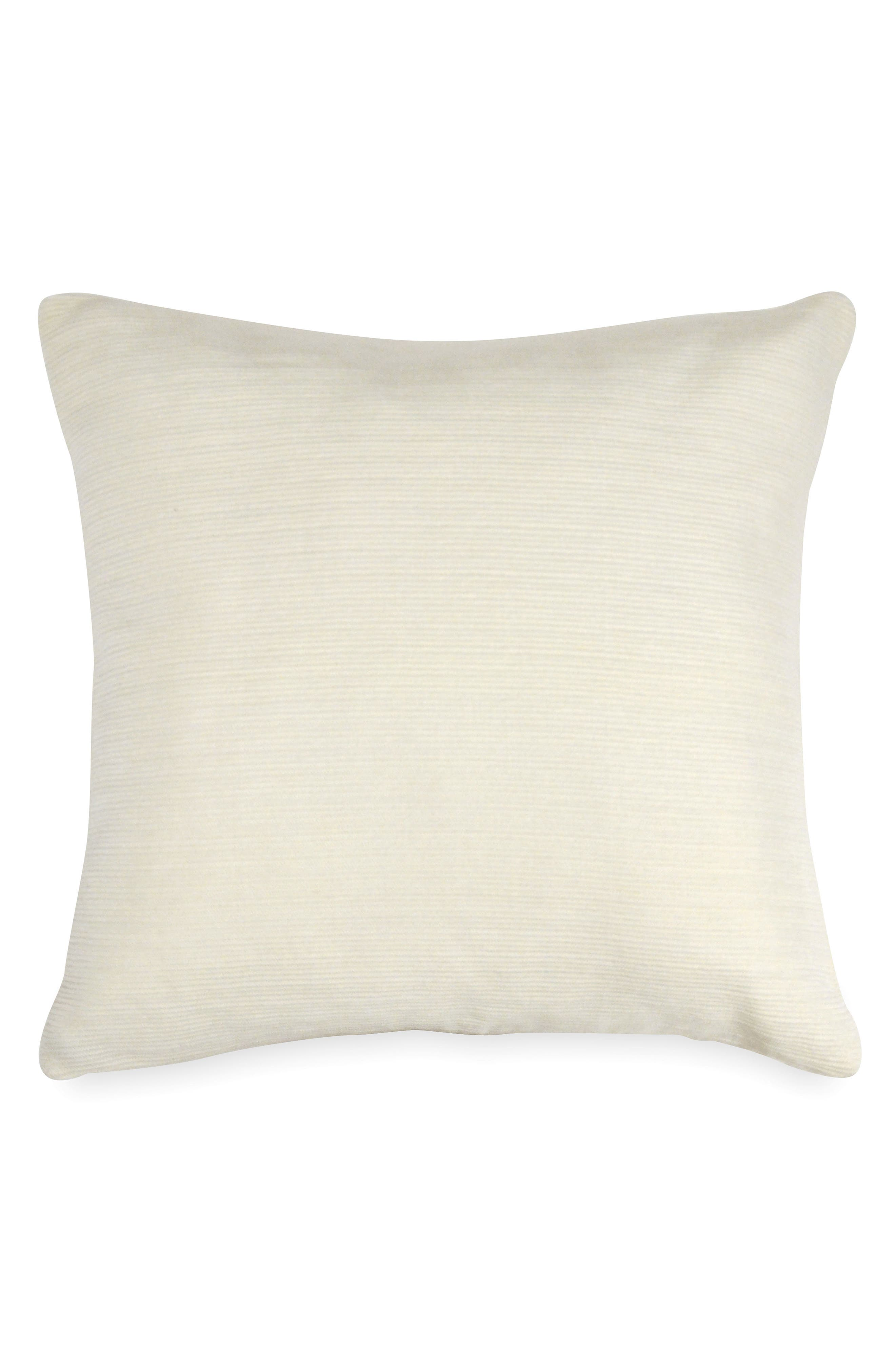 Motion Knit Accent Pillow,                             Main thumbnail 1, color,                             OATMEAL