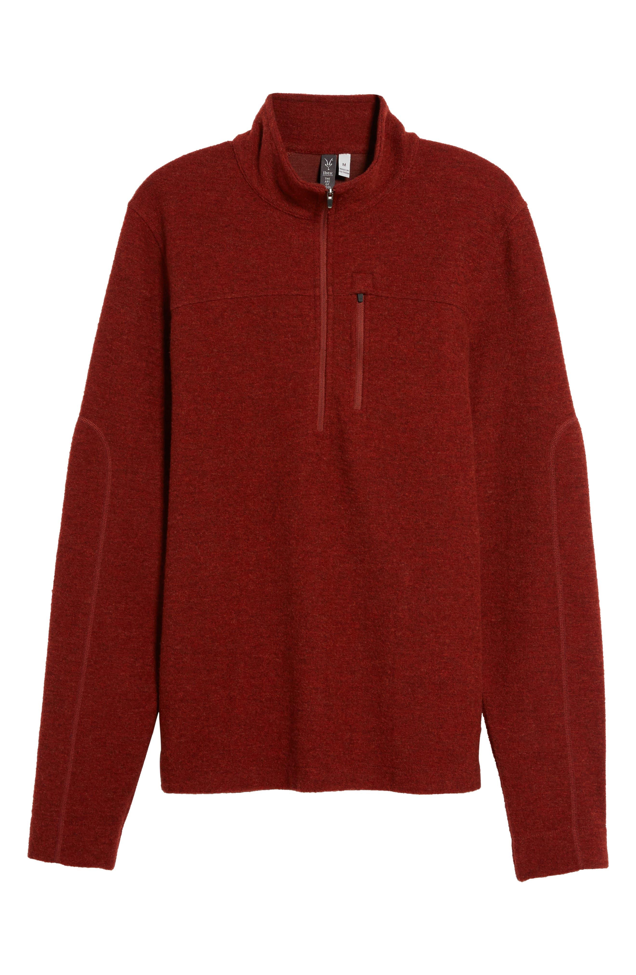 Scout Jura Merino Wool Blend Quarter Zip Pullover,                             Alternate thumbnail 30, color,