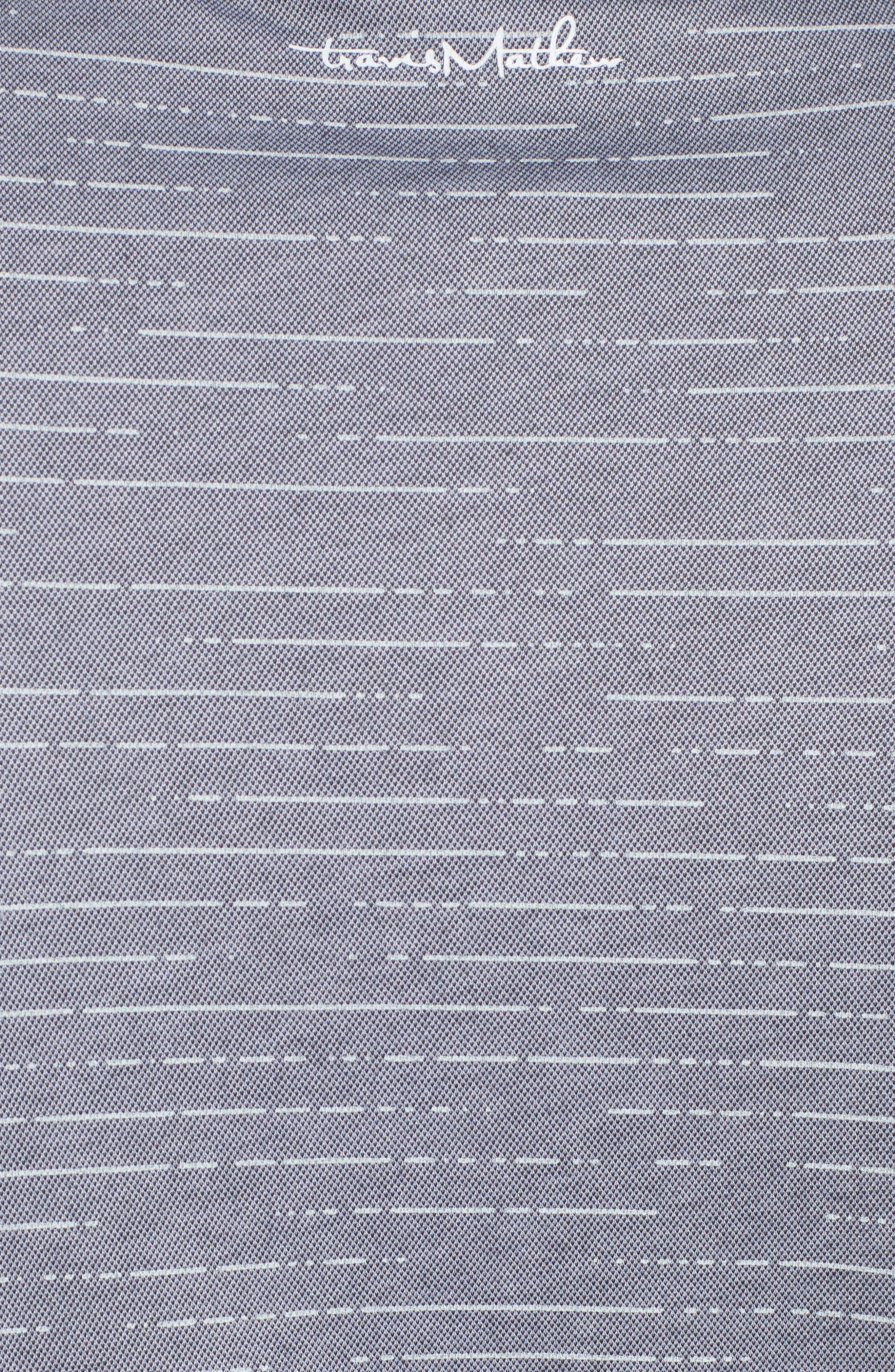 Jered Stripe Print Jacquard Polo,                             Alternate thumbnail 5, color,                             020