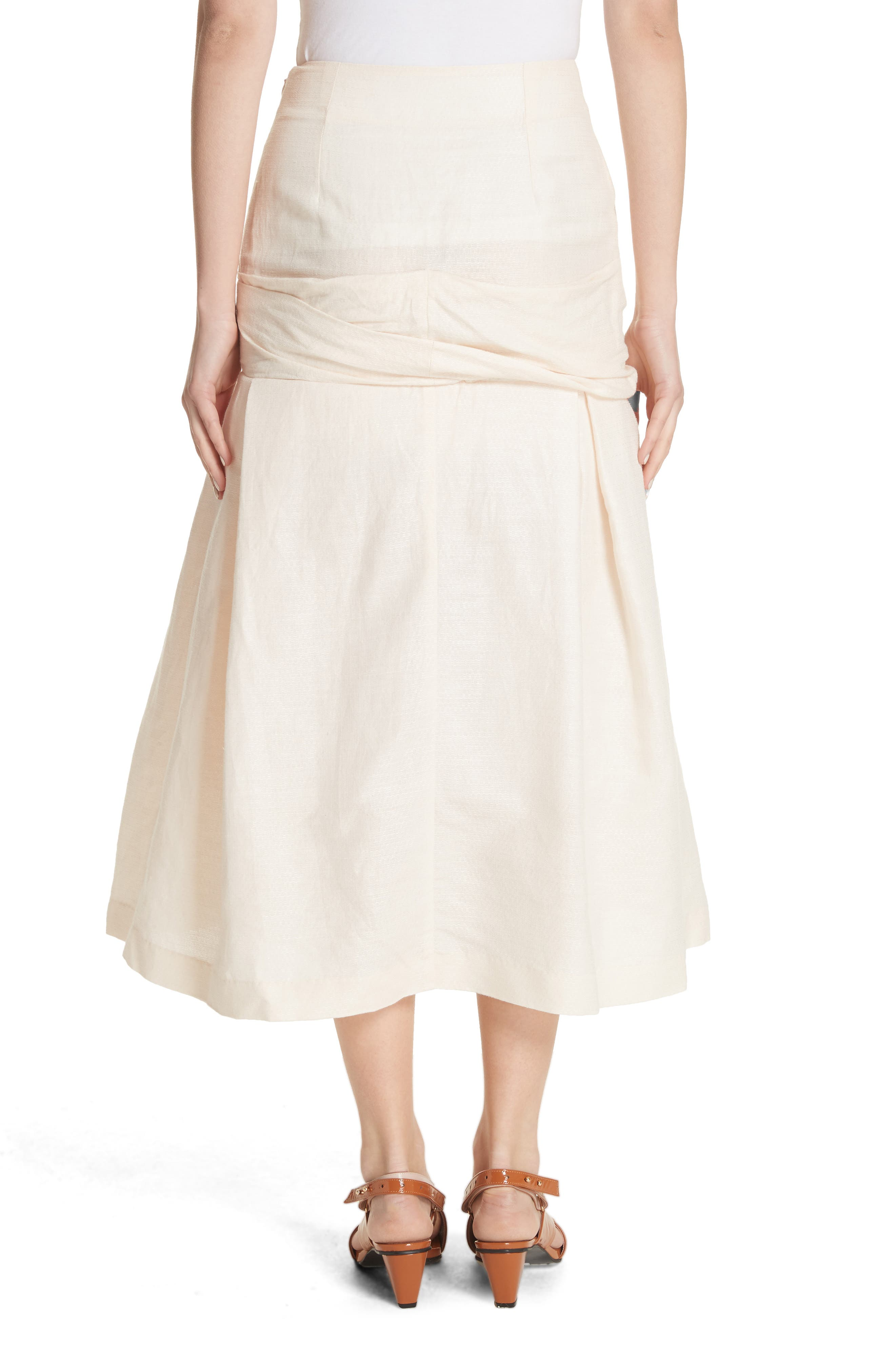 La Jupe Mamao Skirt,                             Alternate thumbnail 2, color,                             250