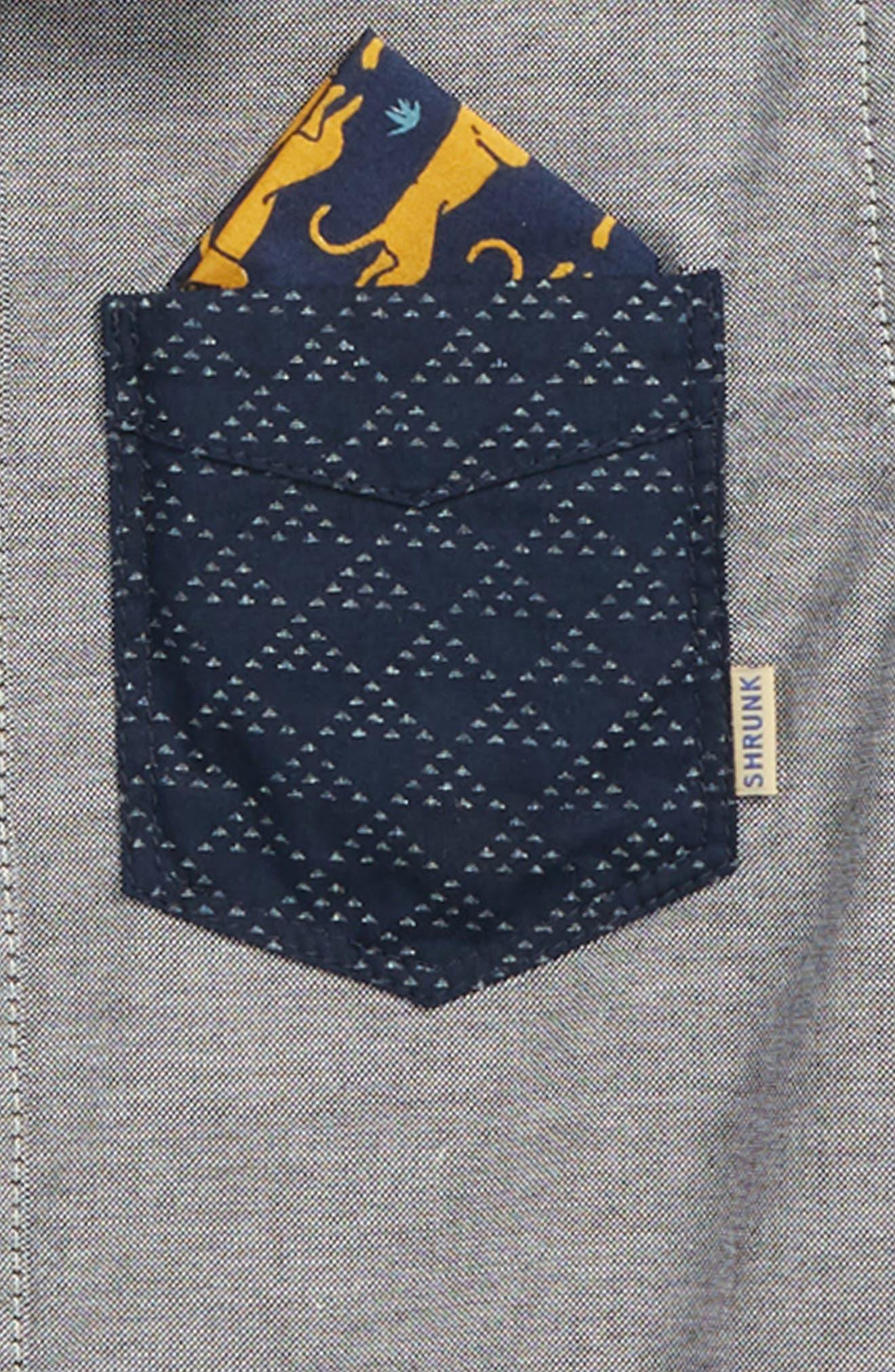Contrast Pocket Shirt,                             Alternate thumbnail 2, color,                             605 Z