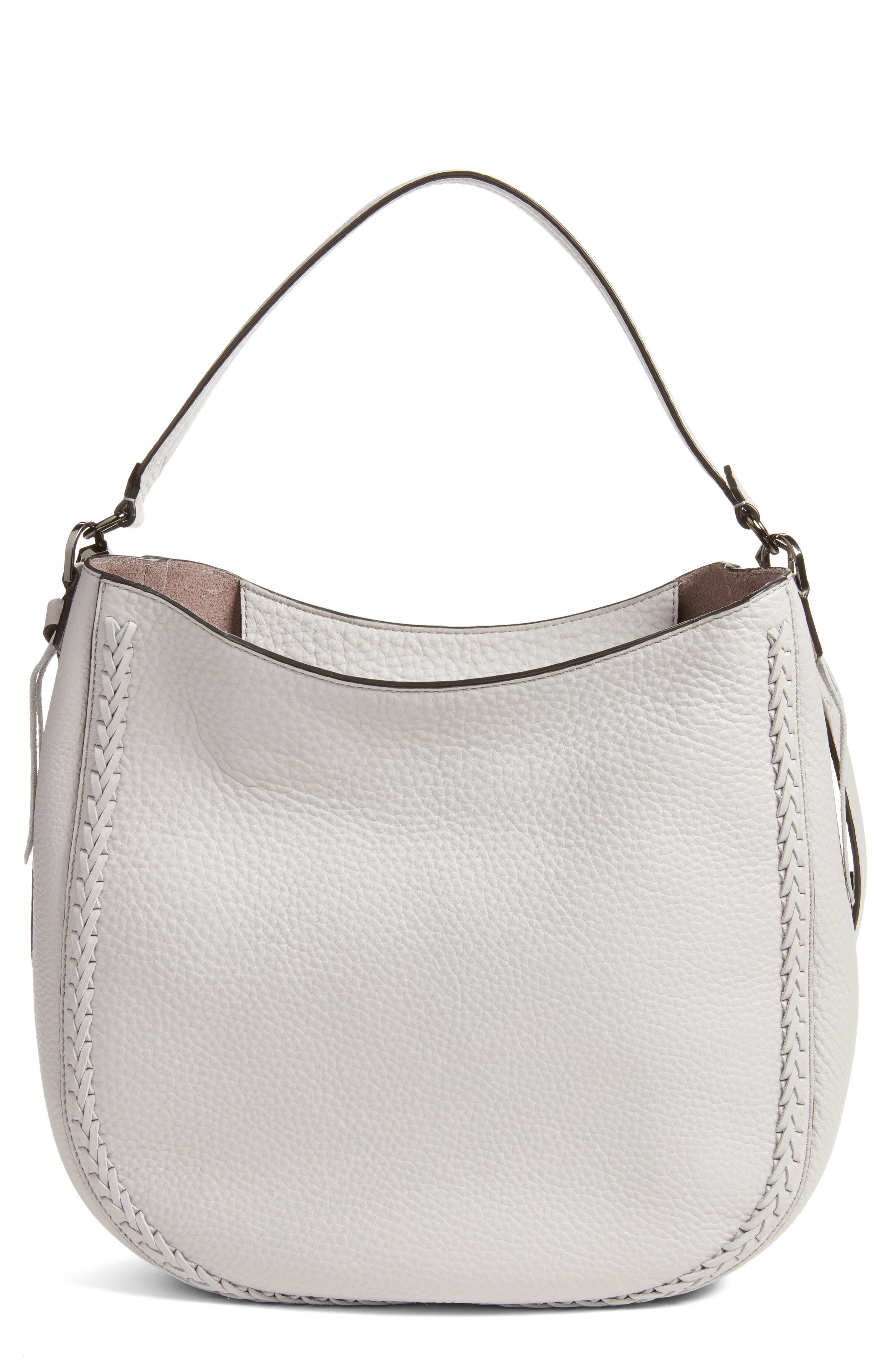 Unlined Convertible Whipstitch Hobo,                             Main thumbnail 2, color,