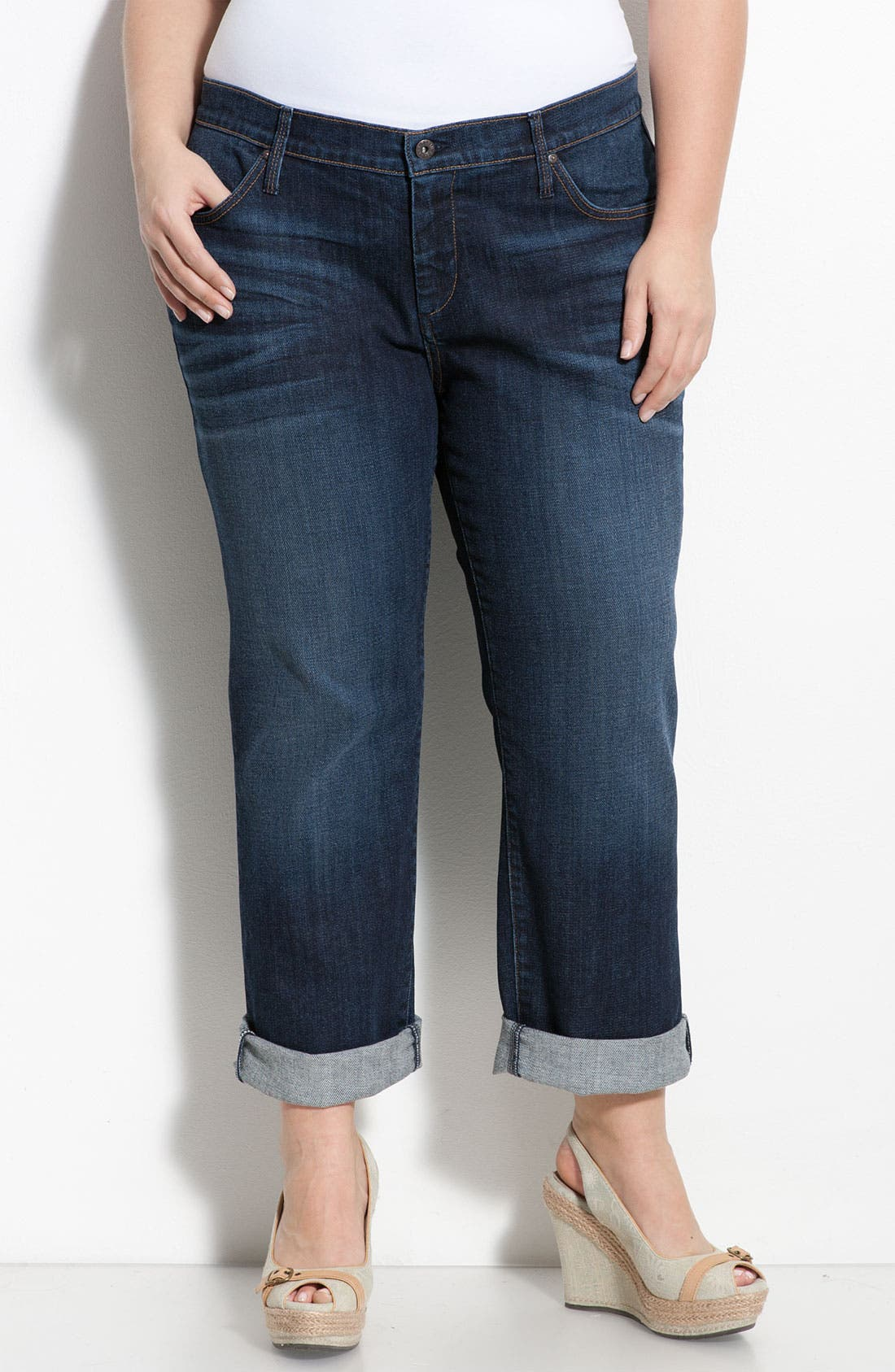 Straight Leg Jeans,                         Main,                         color, 400